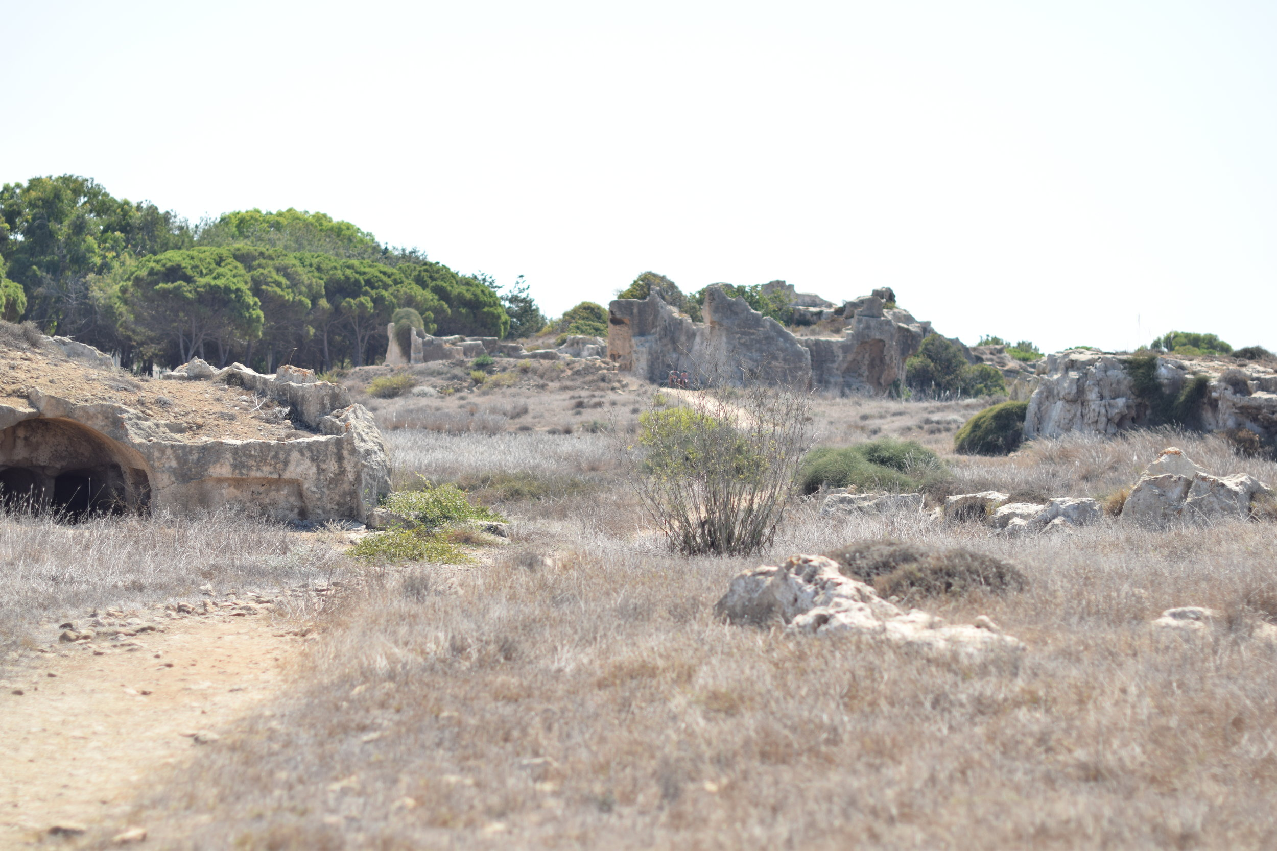 Archeological site of the Tombs of the Kings.