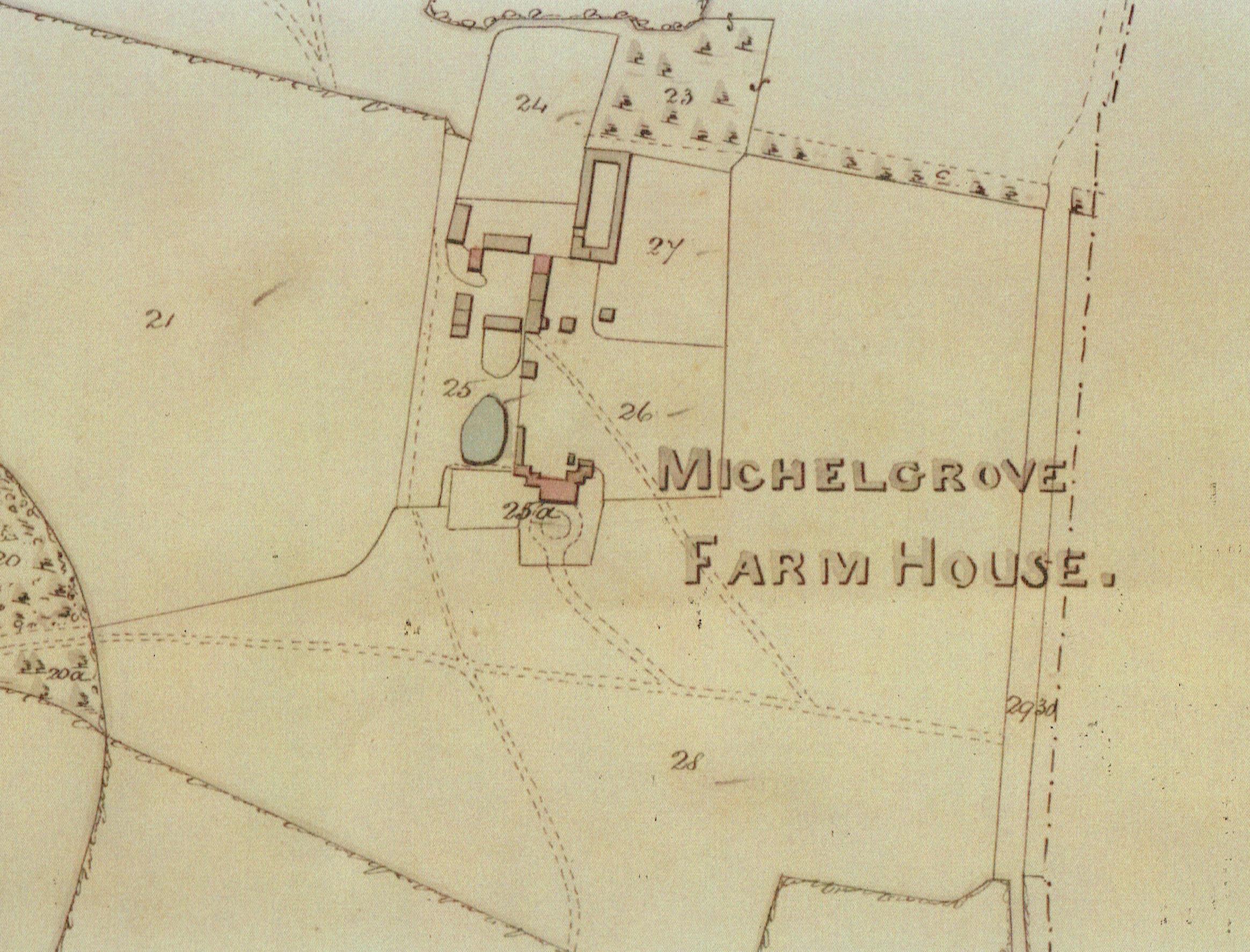 Myrtlegrove House-Tithe Map-1838-Crop.jpg