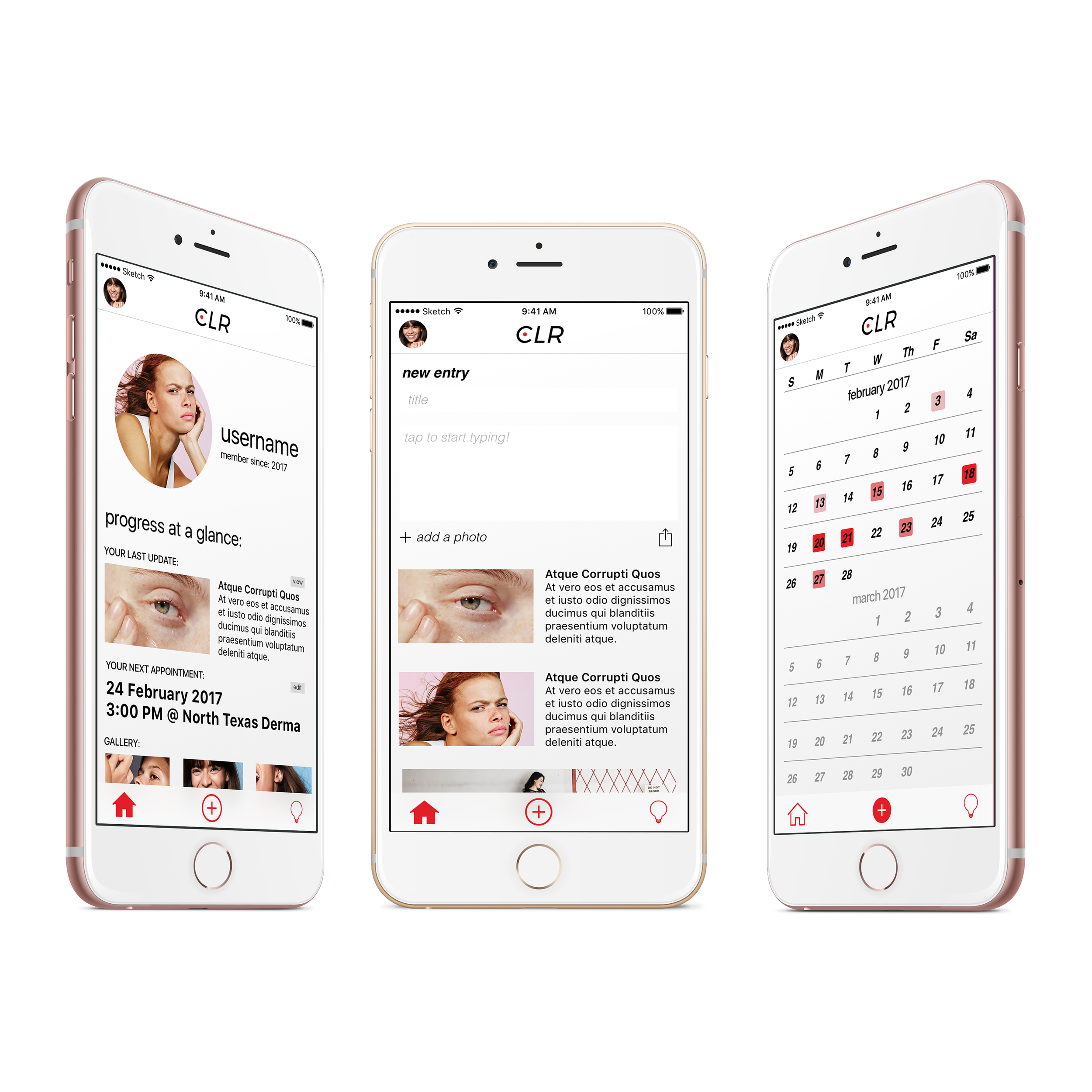 Mobile App Design -
