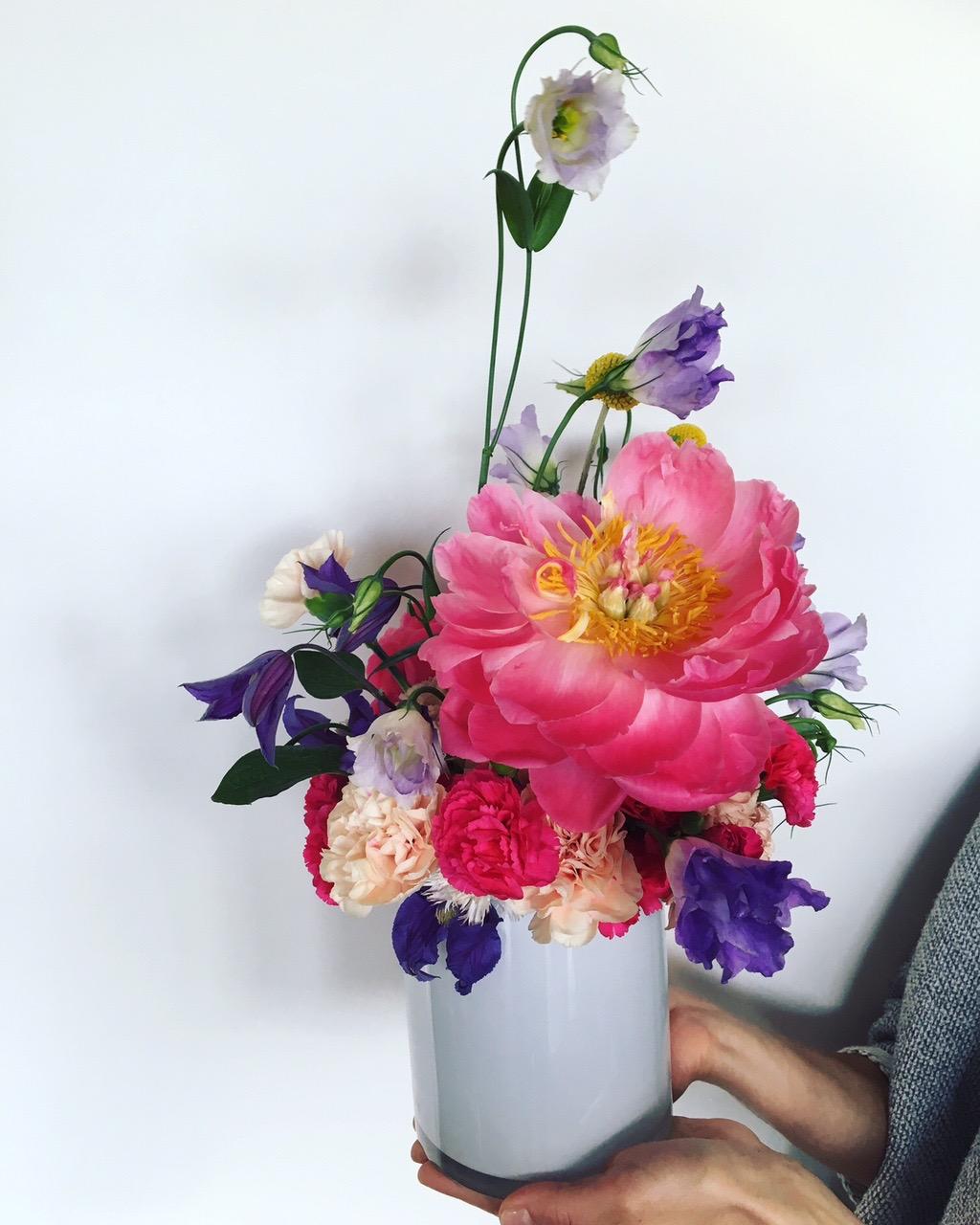 Sample Iris & Virgil floral design