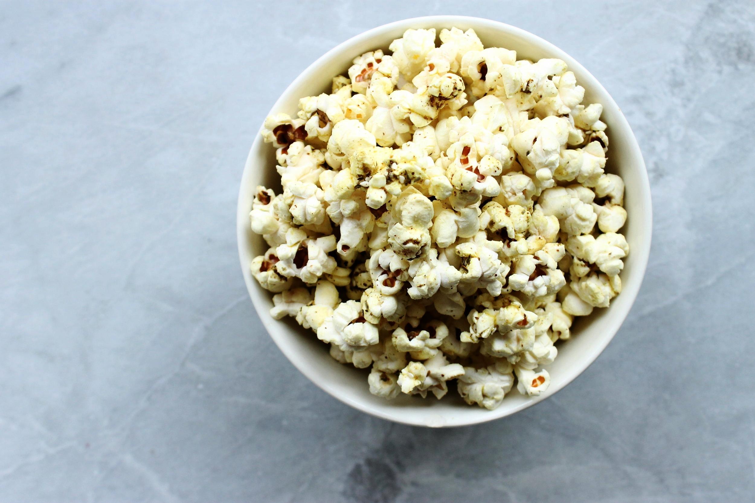 Zaatar popcorn | Beloved Kitchen
