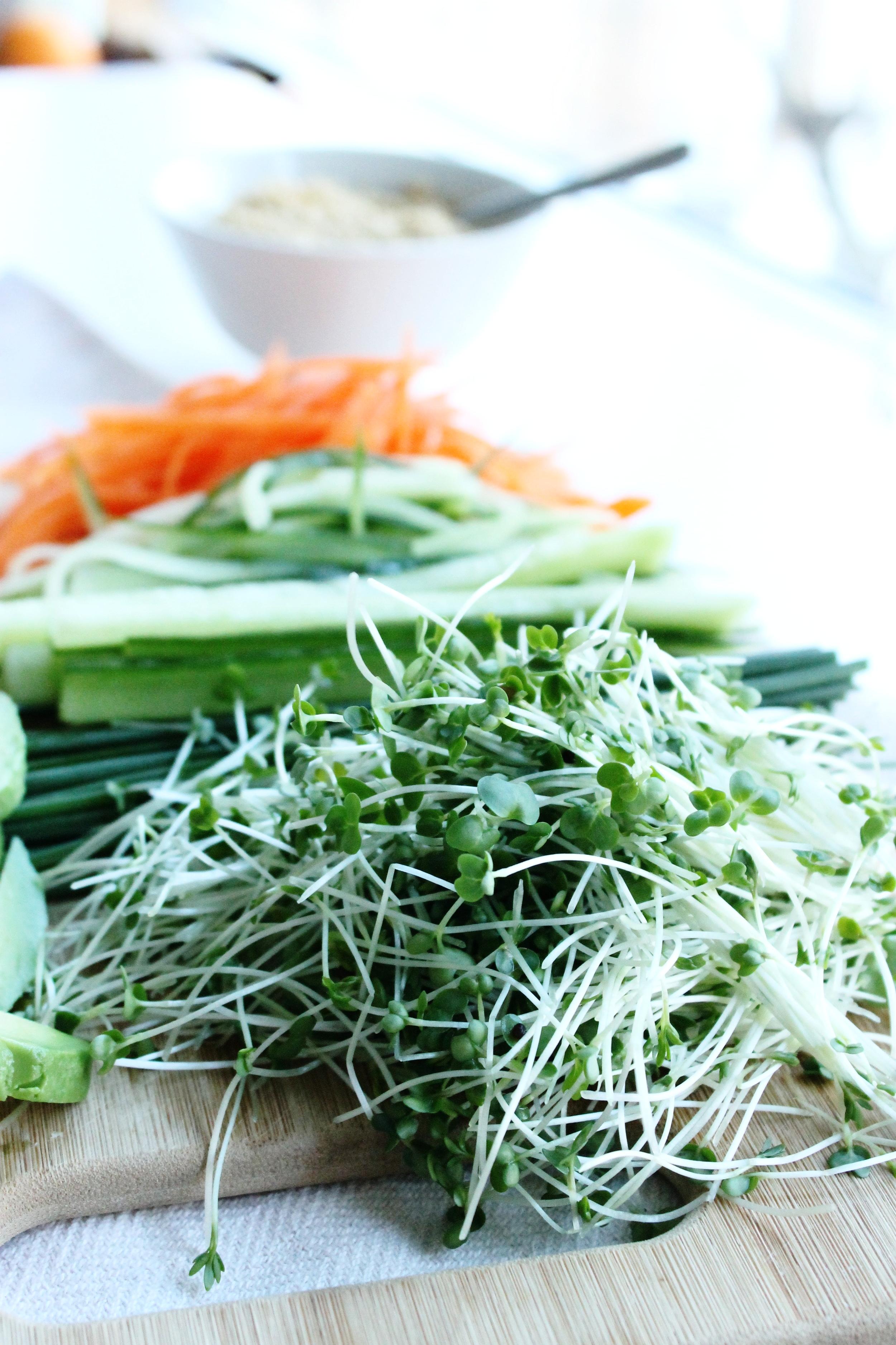 Vegan sushi | Beloved Kitchen