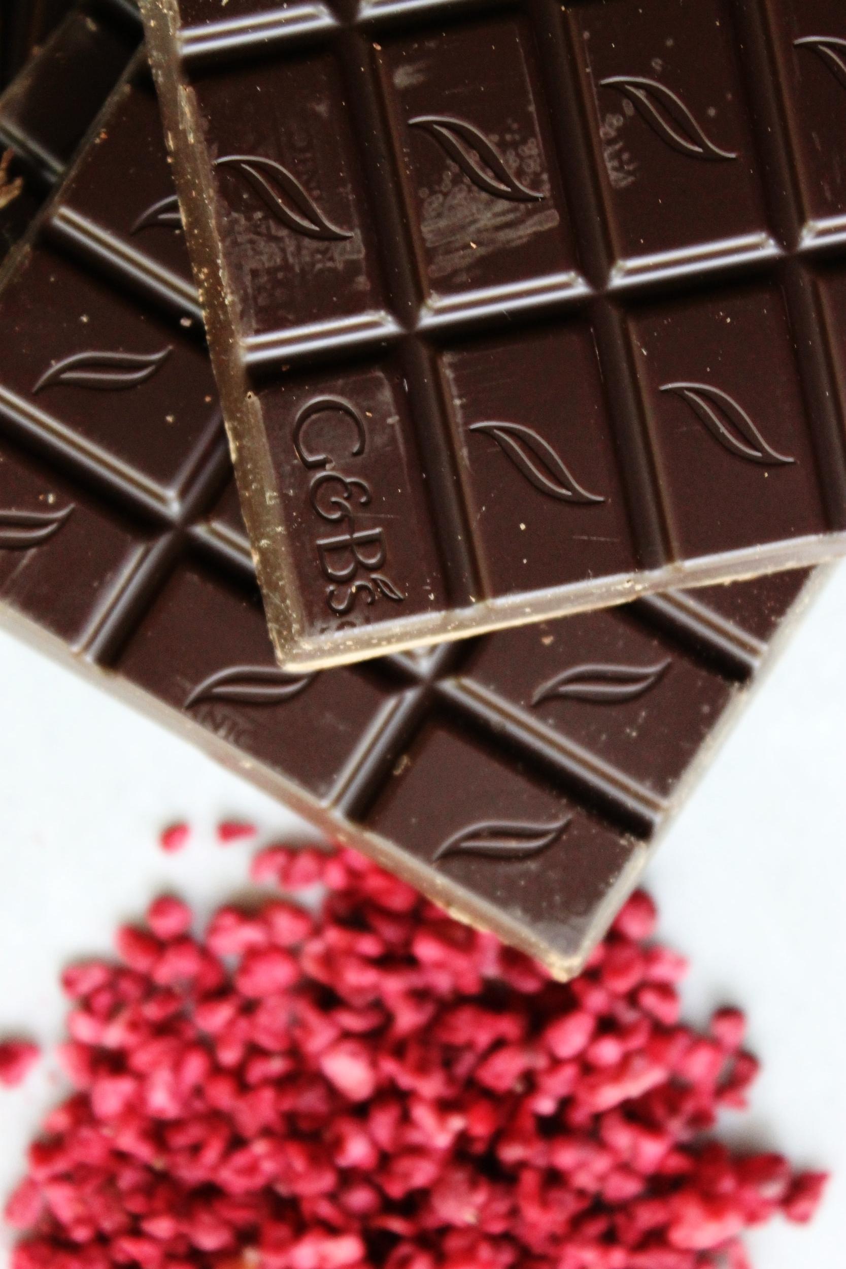 Raspberry-vanilla chocolate bark   Beloved Kitchen