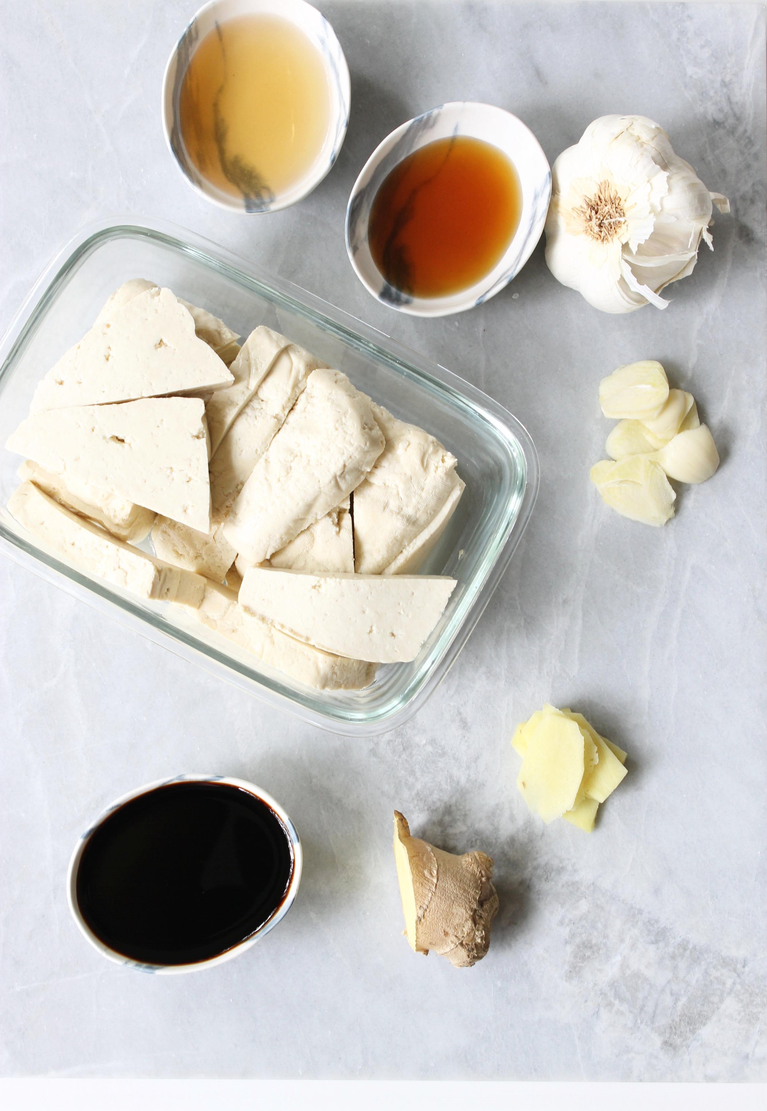 Marinated tofu steaks | Beloved Kitchen