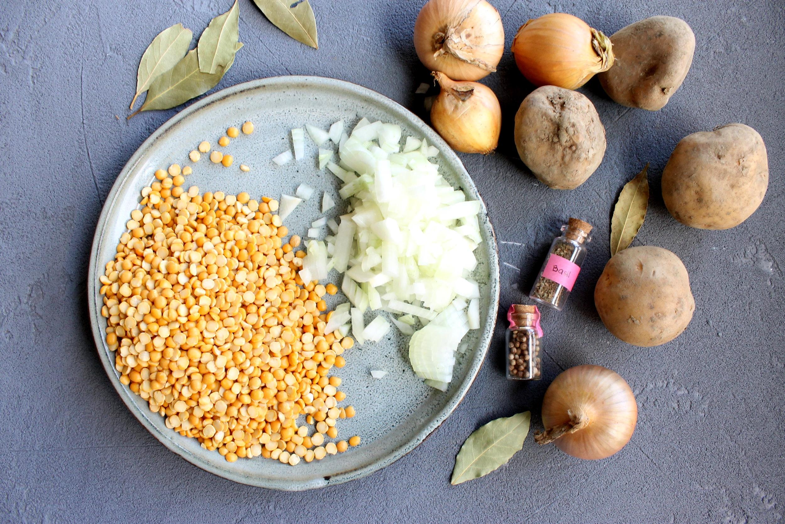 Golden split pea soup | Beloved Kitchen