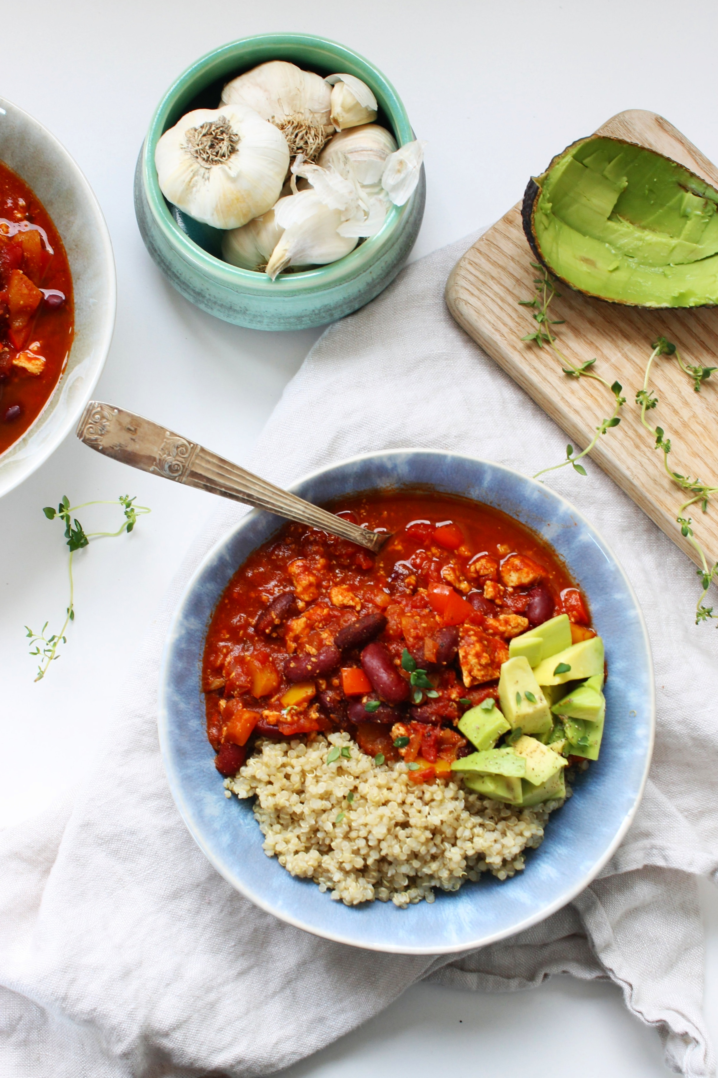 Smoky veggie chili | Beloved Kitchen