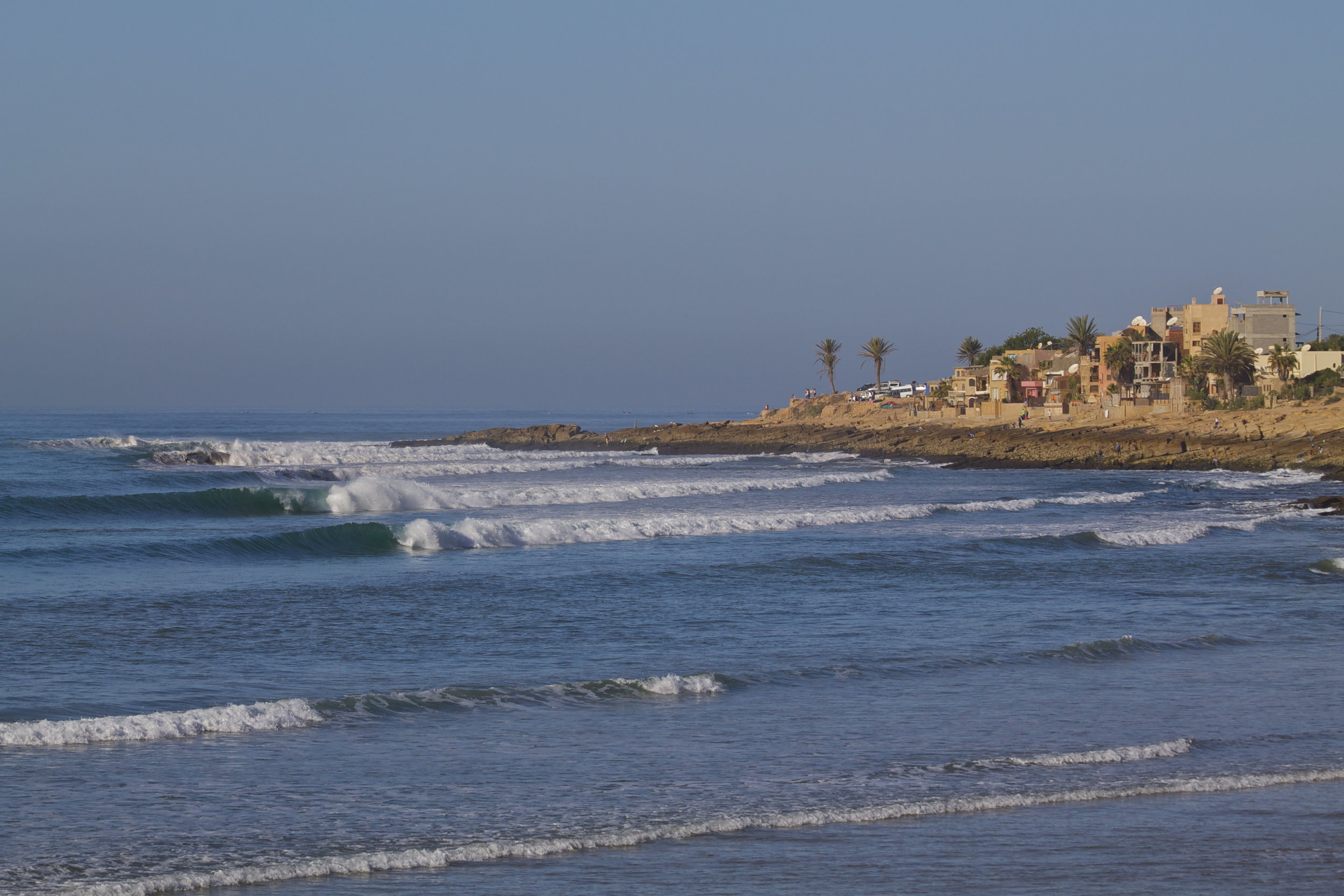 surf spots morocco - anchor point
