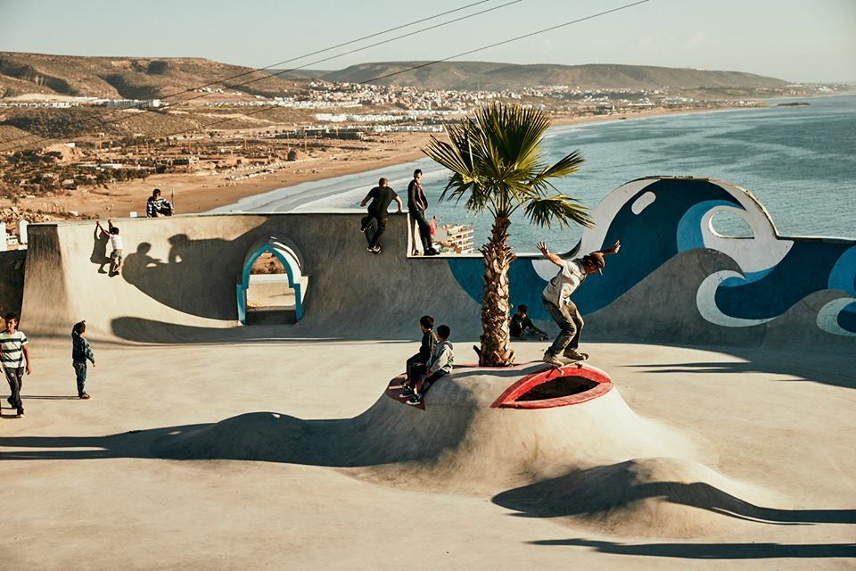 Photo credits to Taghazout Skate