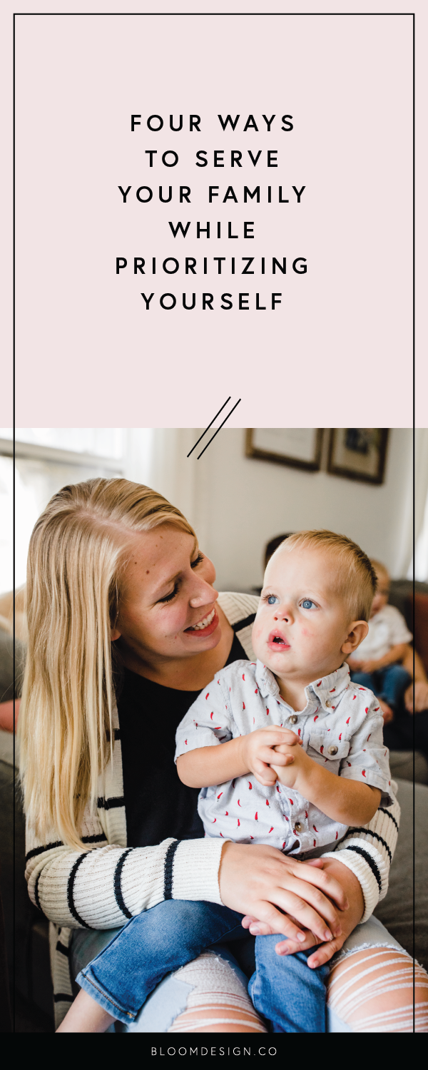 It's hard to find time for yourself when you're running a business and ALSO a household/family. Consider these tips for making time for your own self care and finding ways to include your family in those personal goals. #girlboss #bossbabe #smallbusinessowner #etsyseller #etsyshop #etsy #productphotography #sidehustle #creativepreneur #entrepreneur #selfmadebusiness #momboss #wahm #workathomemom #sidehustlinmama