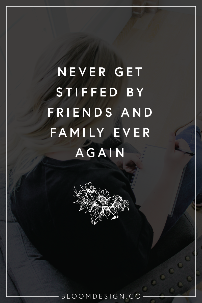 Show your friends and family that you can easily accommodate them without it impacting your relationship or your business. Setting rules and boundaries is key! #sidehustle #onlinemarketing #creativebiz #girlboss #virtualassistant #graphicdesigner #creativepreneur #sidejob #sahm #wahm #momboss #bossbabe #bloomdesignco