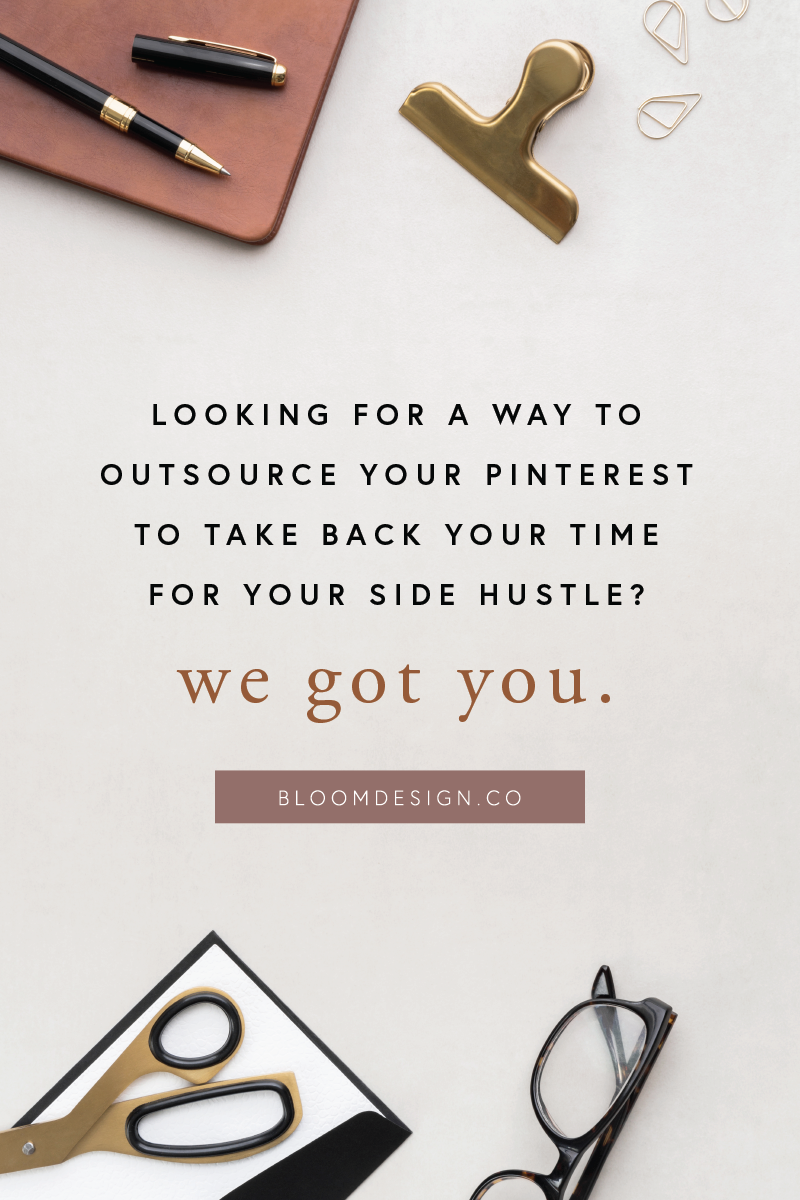 Pinterest marketing doesn't have to be a confusing mystery. The Bloom Design Company understands how to get your photography business booming simply through developing a pinning strategy that works for you and your budget, growing and expanding your audience and your online reach in just a few months! #bloomdesignco #pinterest #socialmedia #virtualassistant #sidehustle #sidegig #momboss #bossbabe #pinterestmarketing #onlinemarketing #pinning