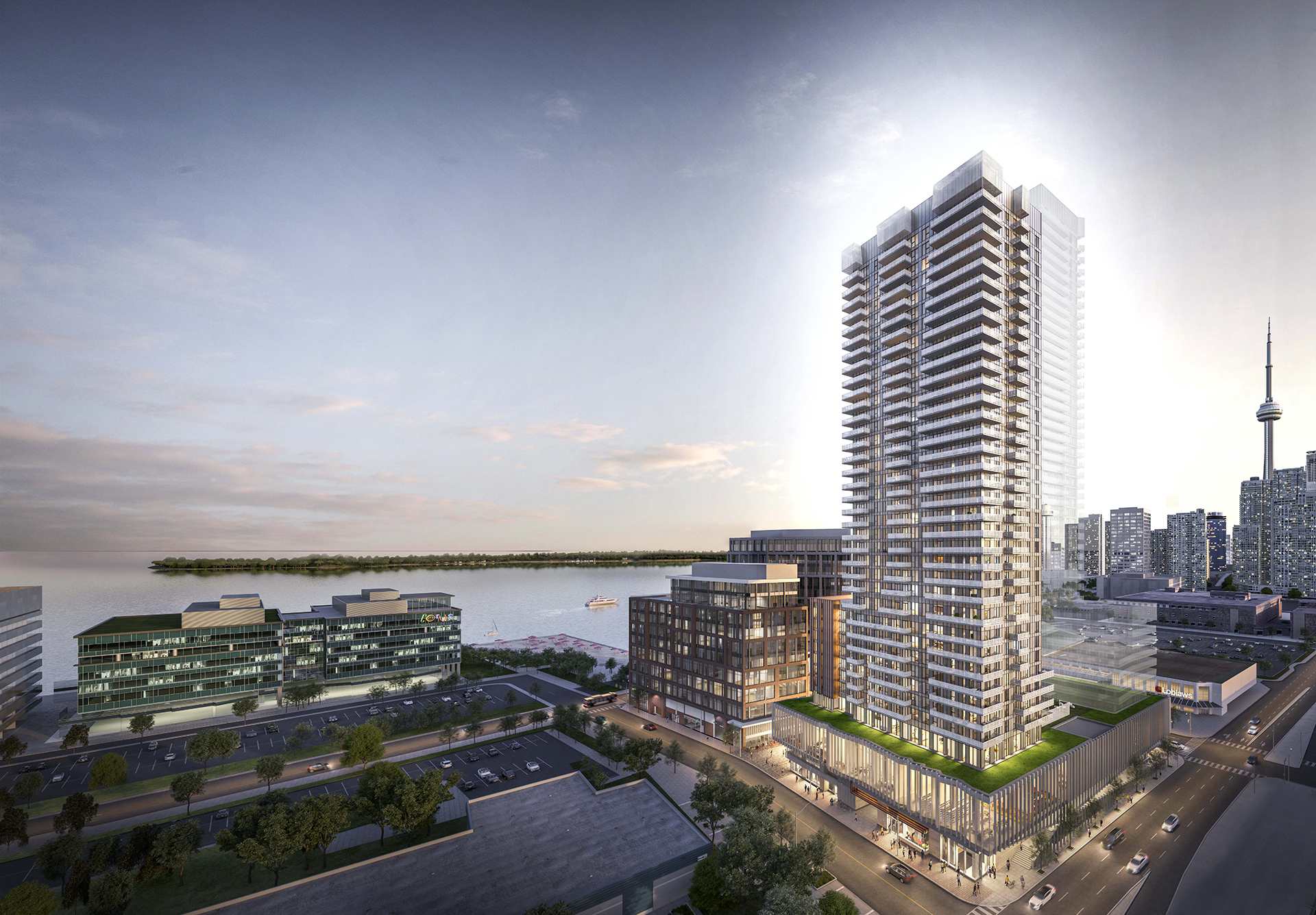 Lighthouse East Tower - Queens Quay & Lower Jarvis • Daniels CorporationDaniels Waterfront Condos Lighthouse East Tower is the newest addition to the Daniels Waterfront – City of the Arts. It will consist of 36 storeys and approximately 360 units.