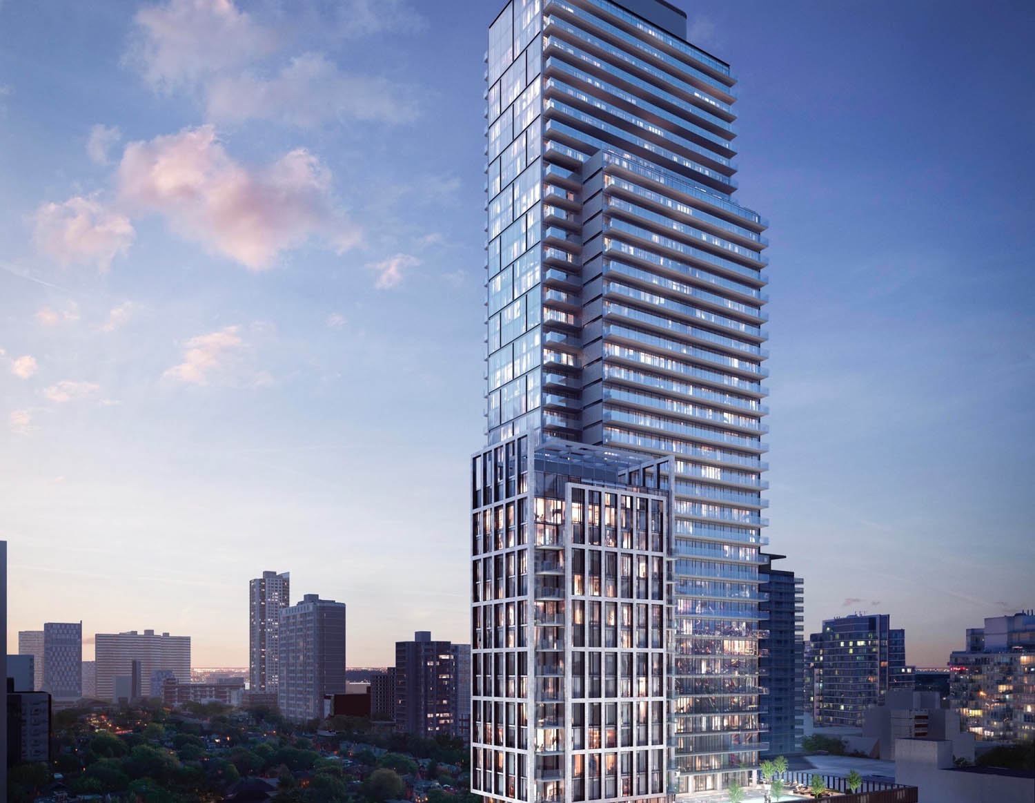 The Halo Residences - Yonge & Carlton • Cresford DevelopmentsThe ultimate luxury is found in classic design. Halo stands proudly on Yonge Street, sophisticated and refined holds 423 units. Estimated completion date set for 2020.