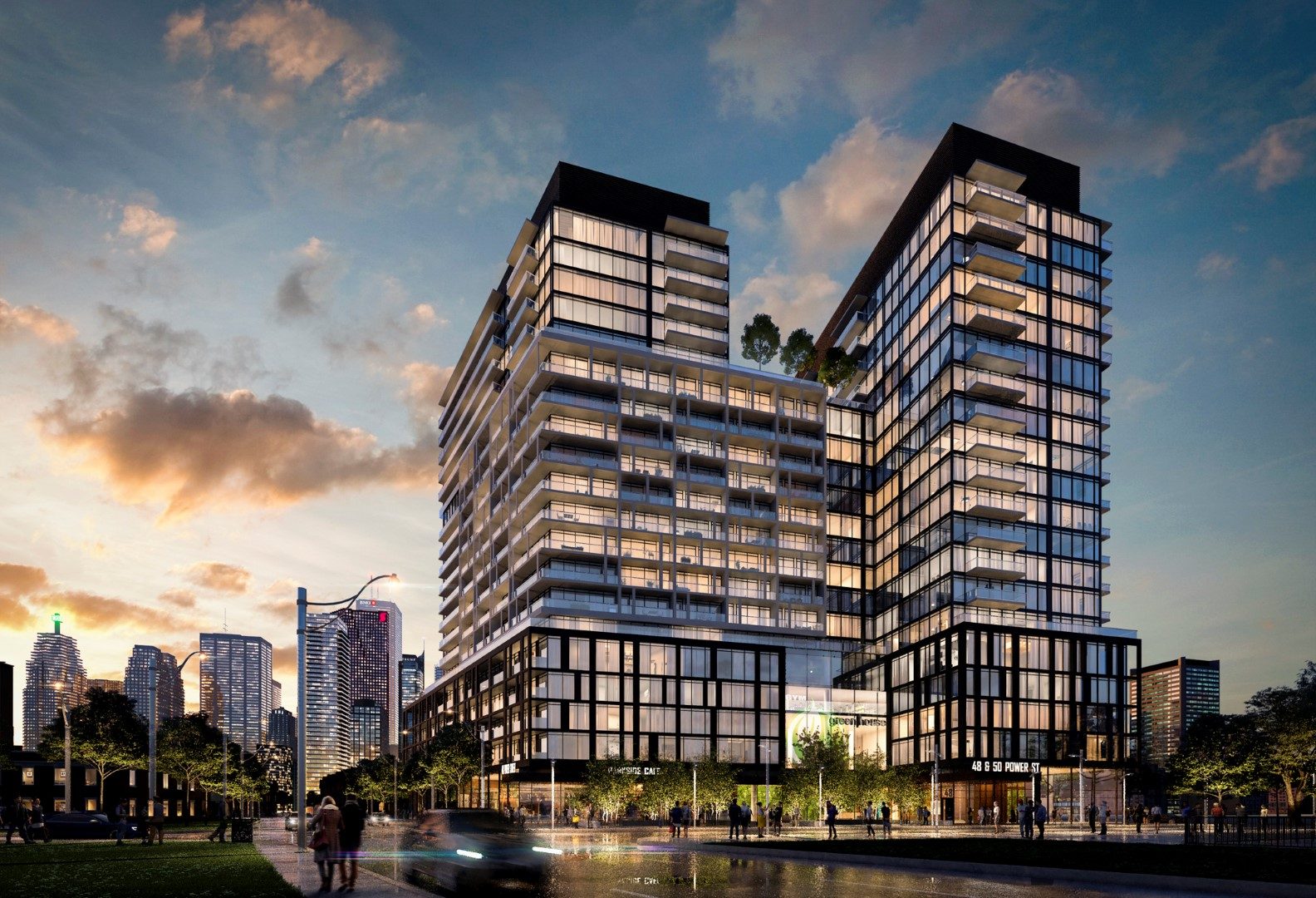 Home on Power + Andelaide - Parliament & Adelaide • Hullmark & Great Gulf DevelopmentsHome. Power + Adelaide will be the new landmark in Corktown as a 22-storey building with 532 condominium units and 73,000 sf of retail space.