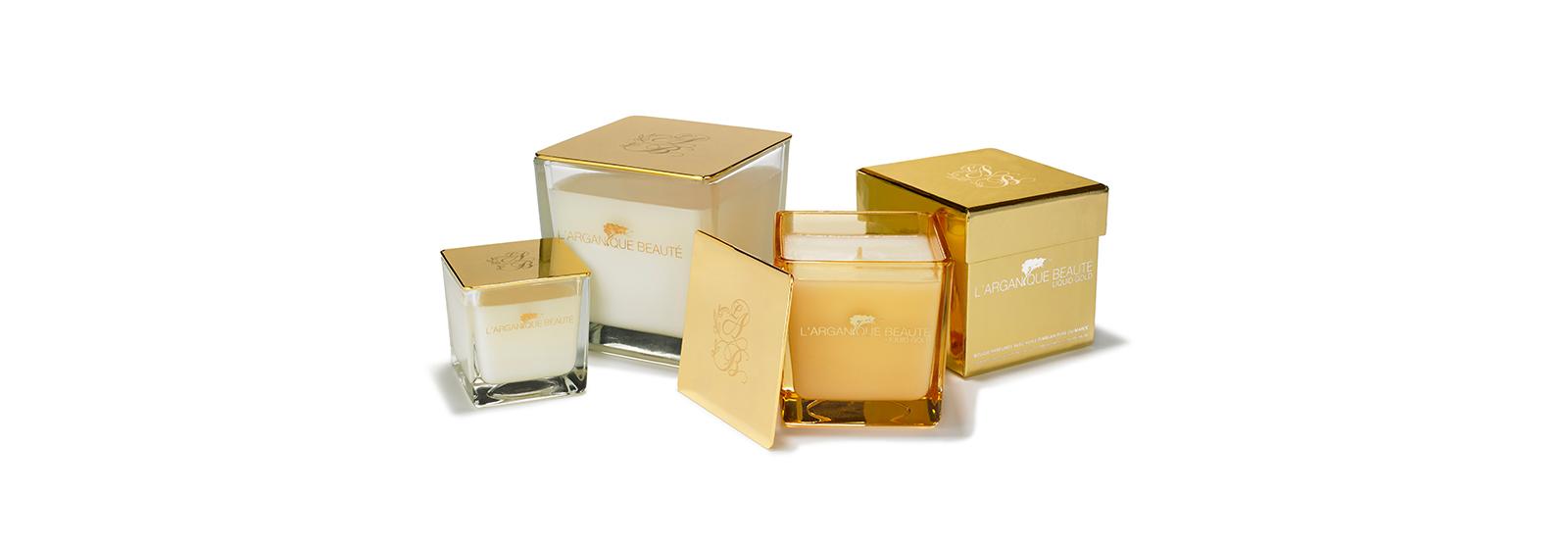 L'arganique Beaute private label candle manufacturer