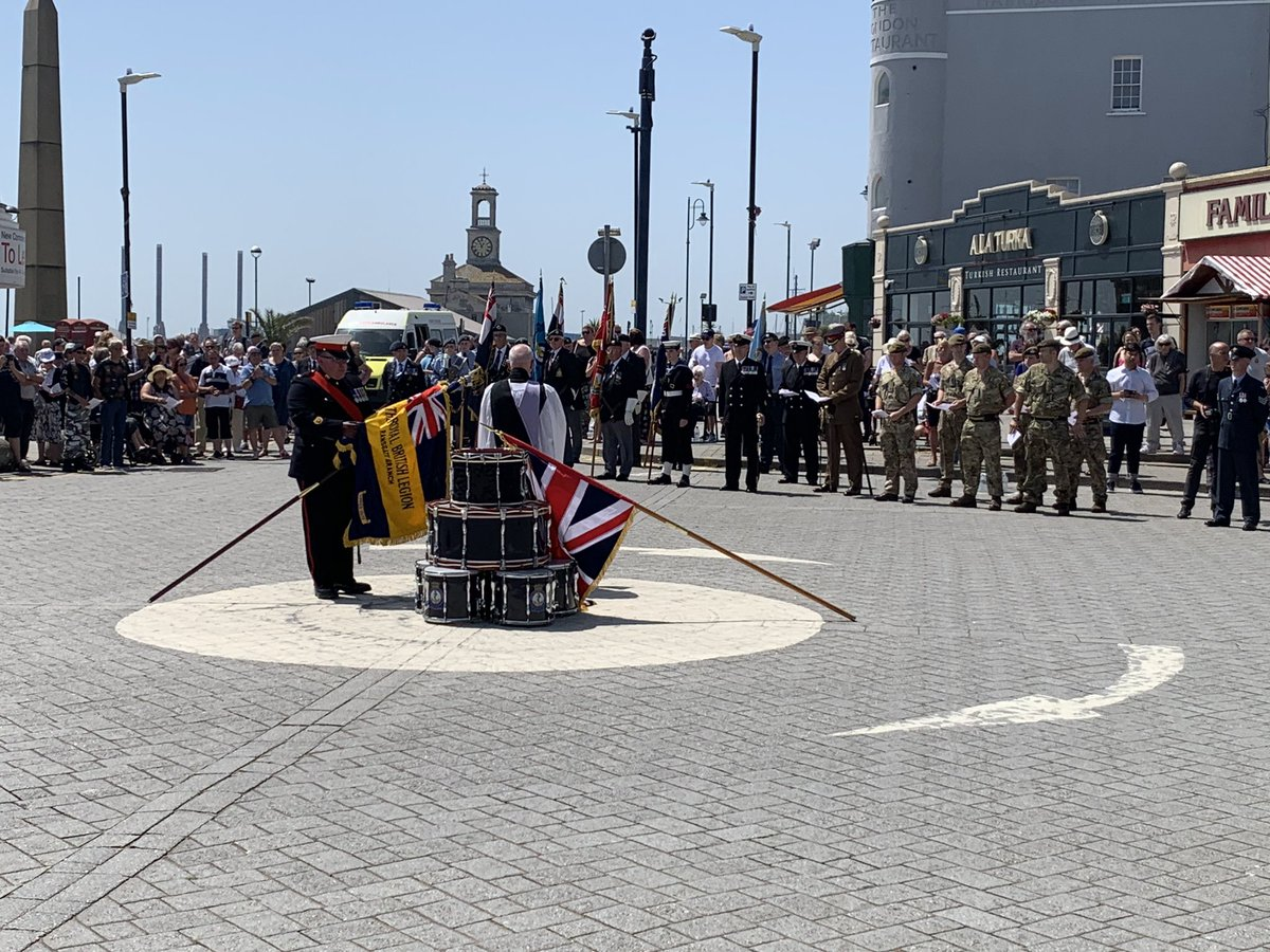 CM at Armed Forces Day parade Ramsgate2 June19.jpg