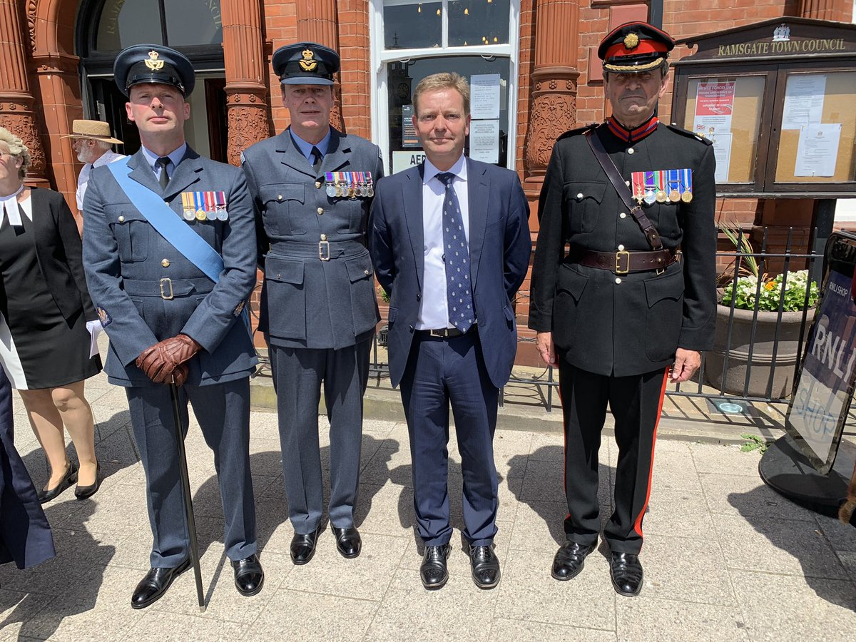 CM at Armed Forces Day parade Ramsgate1 June19.jpg
