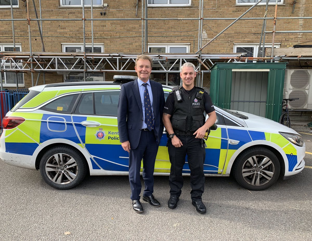 CM at Give a Day To Policing Kent Police Oct9.jpg