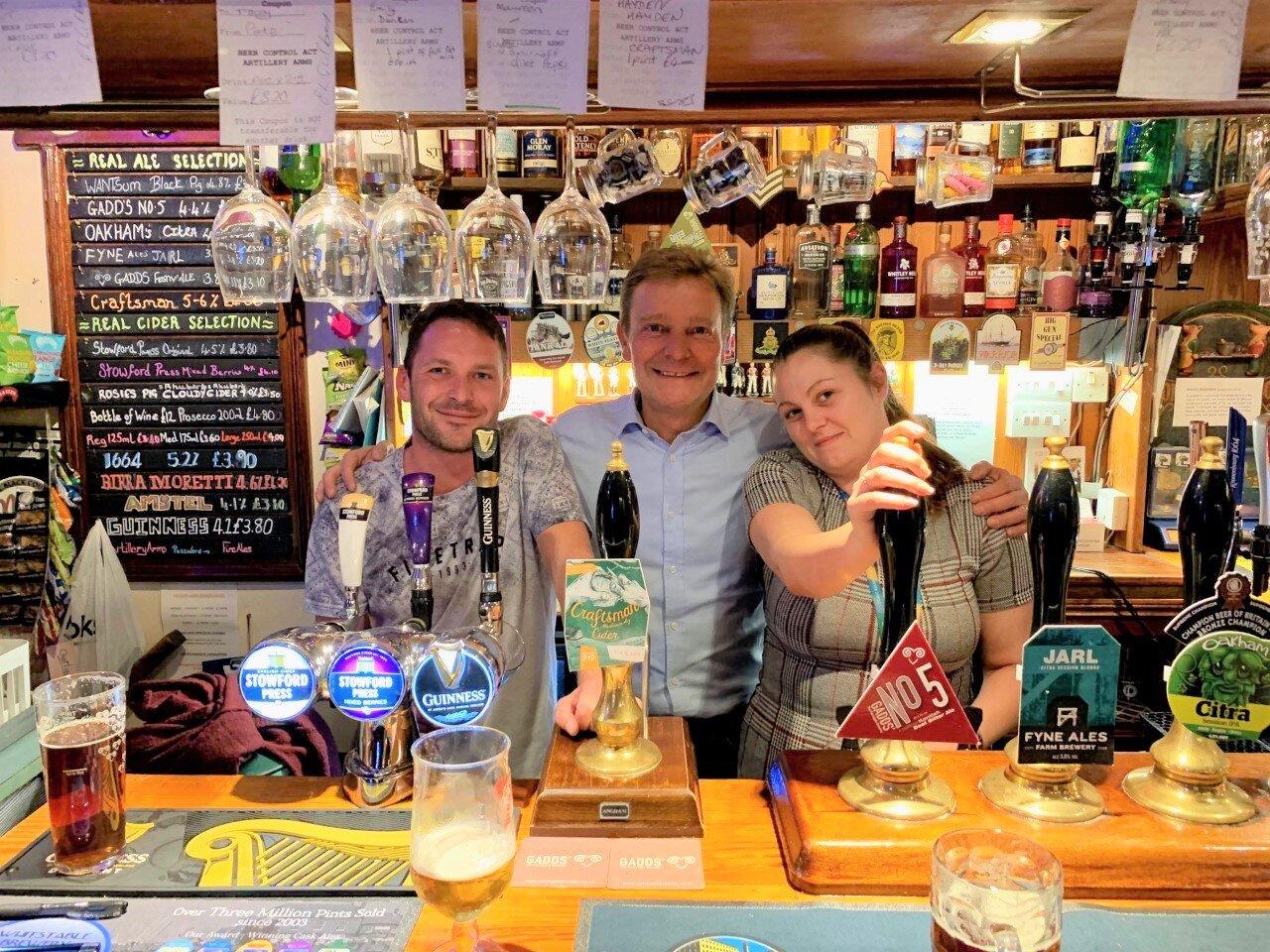 CM at Artillery Arms pub Ramsgate Oct19.jpg