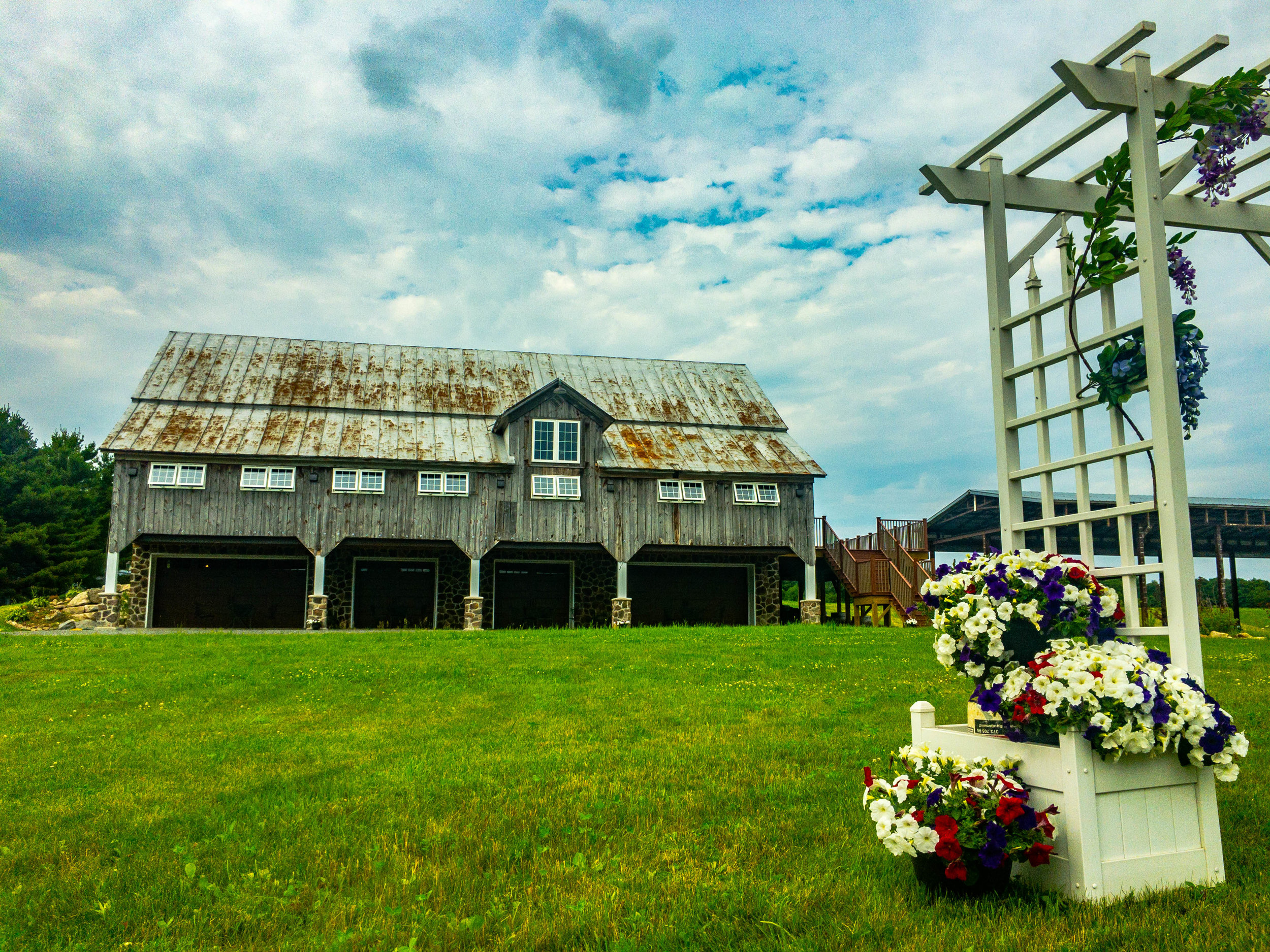 Stunning view of the Barn