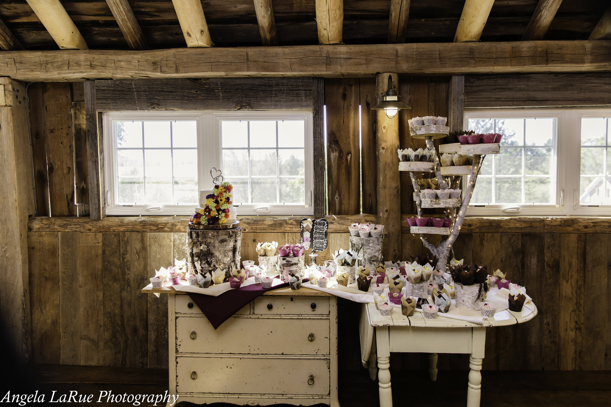 cake table shabby chic