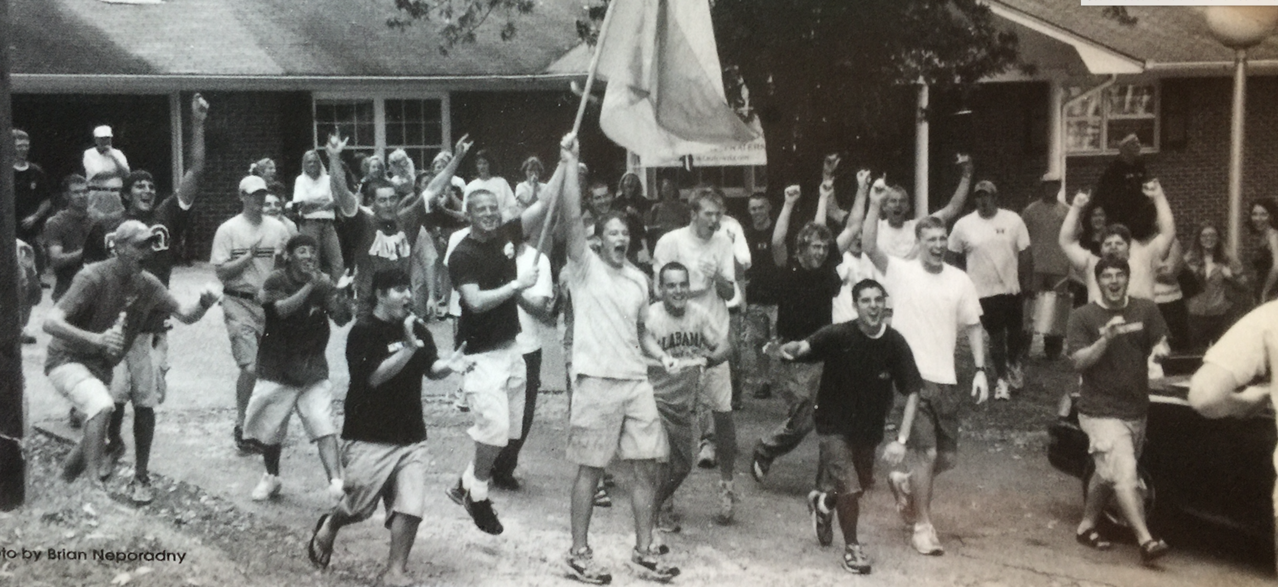 This is how you were greeted when you joined ATO at UNA.