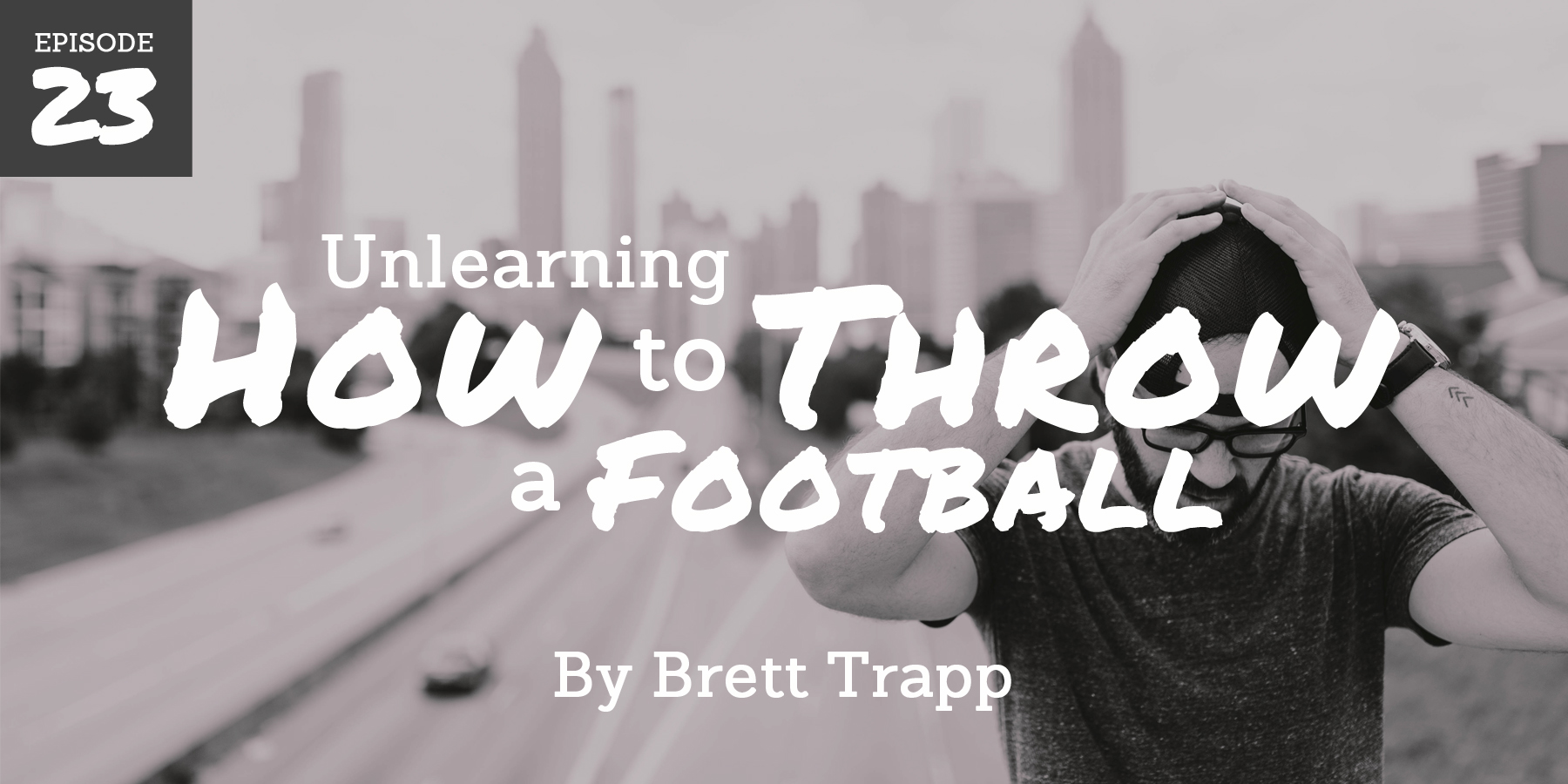 Inexplicably, Brett unlearns how to throw a football...