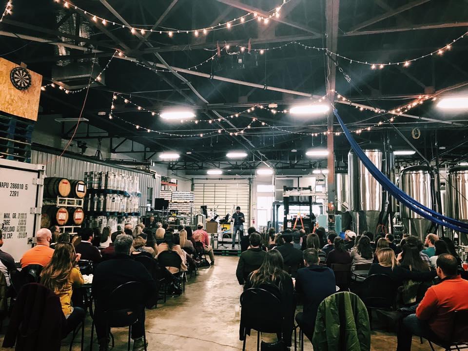 Speaking at TrimTab in Birmingham.