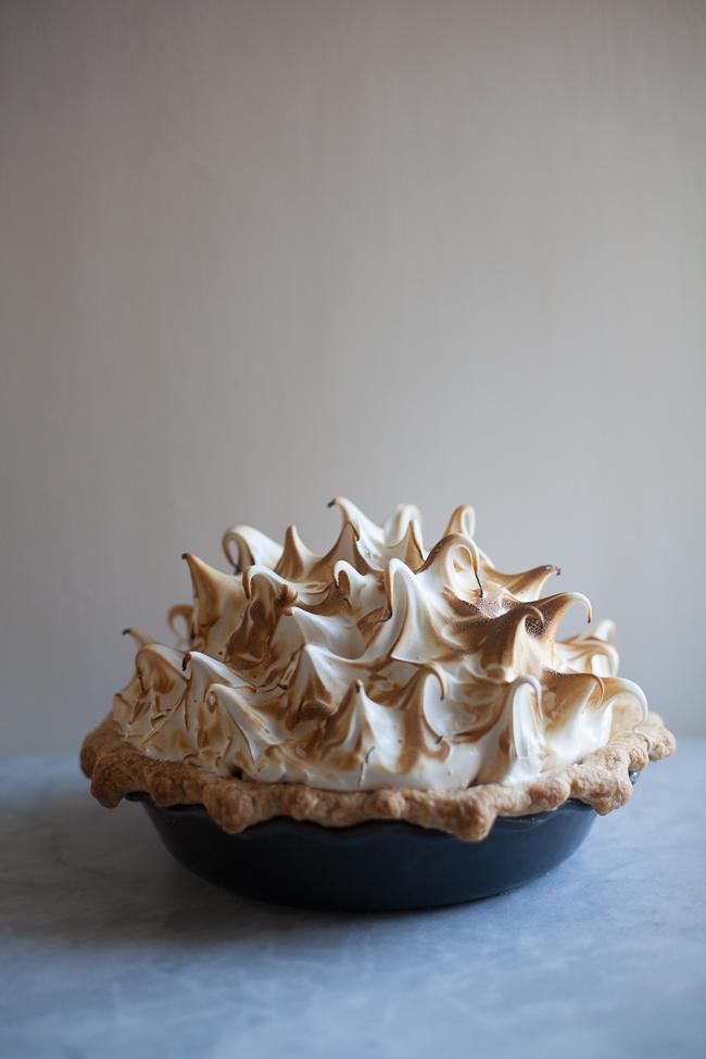 Lemon Meringue Pie by  @zoebakes . Find it  here .