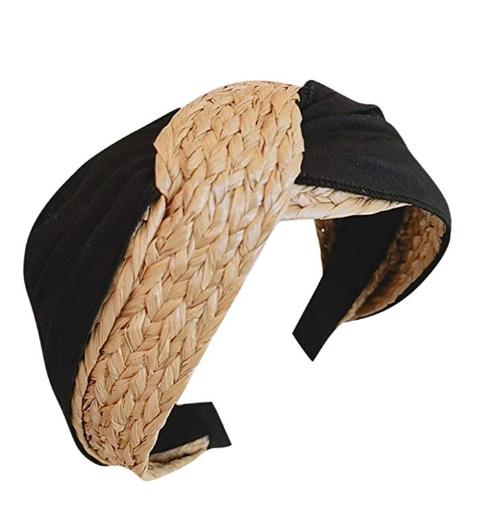 Natural Straw Headband