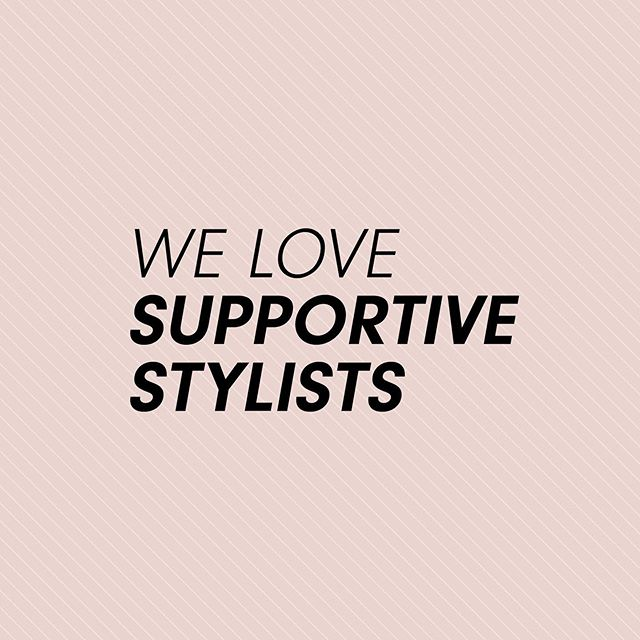 Do you love your supportive stylist? Share your city, the salon name, and your stylists name (bonus if you can tag their Instagram!) in the comments below 👇 . . As for me, I'd like to shout out Zahava at @pozasalon in Charlotte, NC.