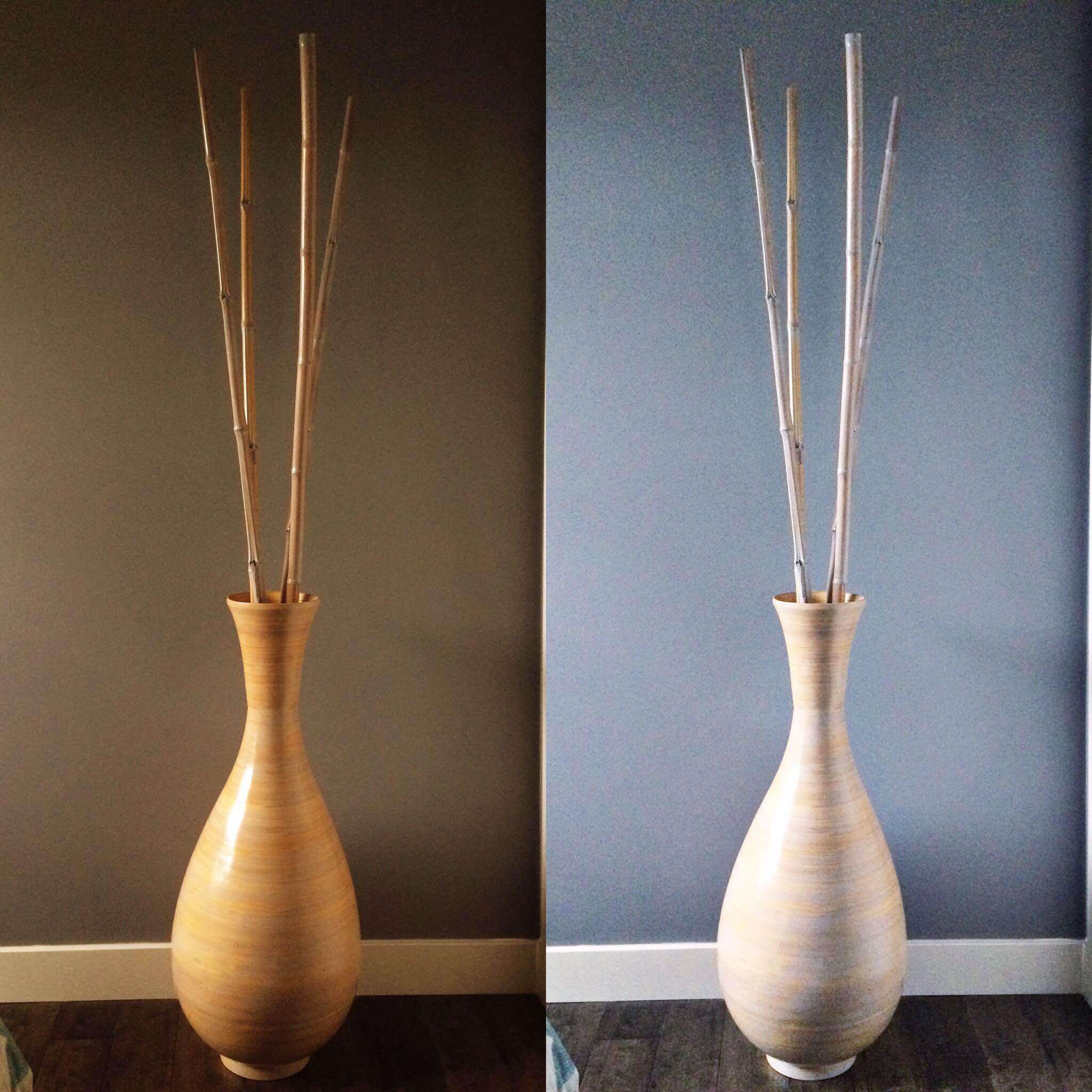 awestnest whitewashed vase