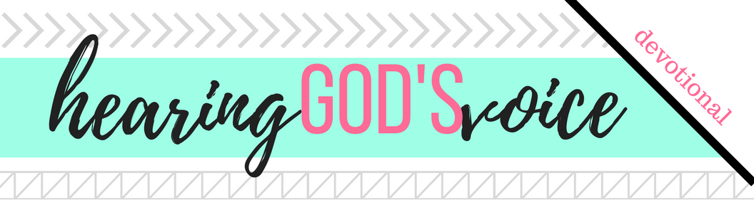 Click here to download the PDF file for Week 9 // Hearing God's Voice