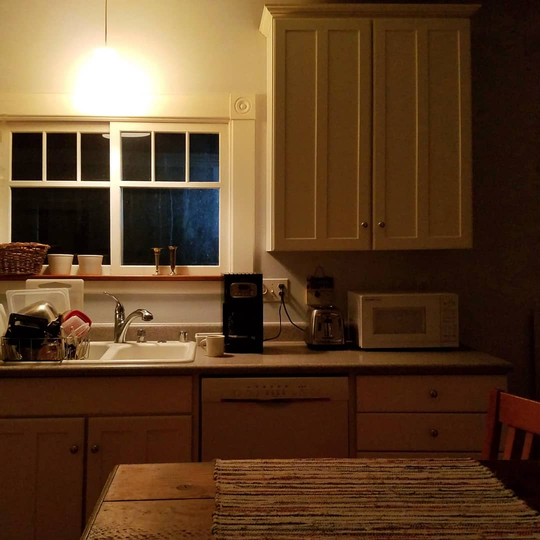 my first August Break post on August 1…Morning Light in my kitchen…
