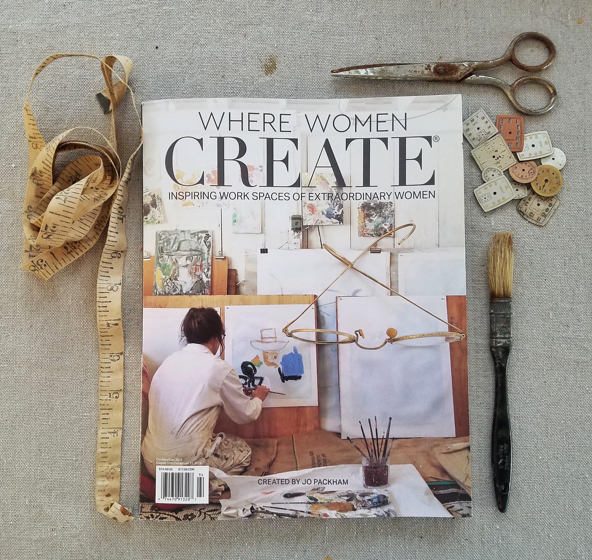 Where Women Create - Oct/Nov/Dec 2019 issue
