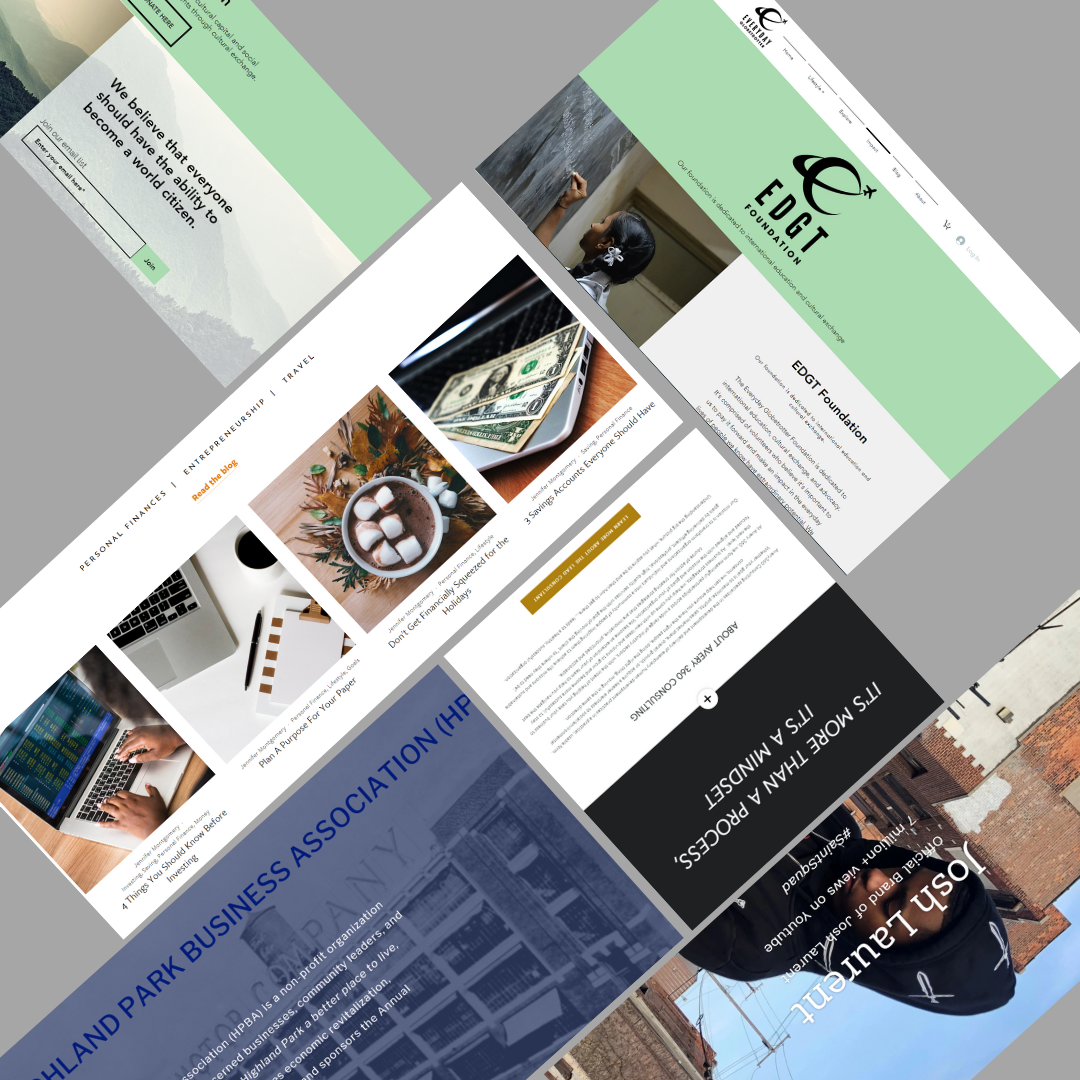 Get Branded - Fully Customized WebsiteSearch Engine OptimizationMobile ResponsiveCustomized Design UpgradesBrand Collateral: Business Facebook Page Creation, Branded Stationery, Business Cards, Media Kit