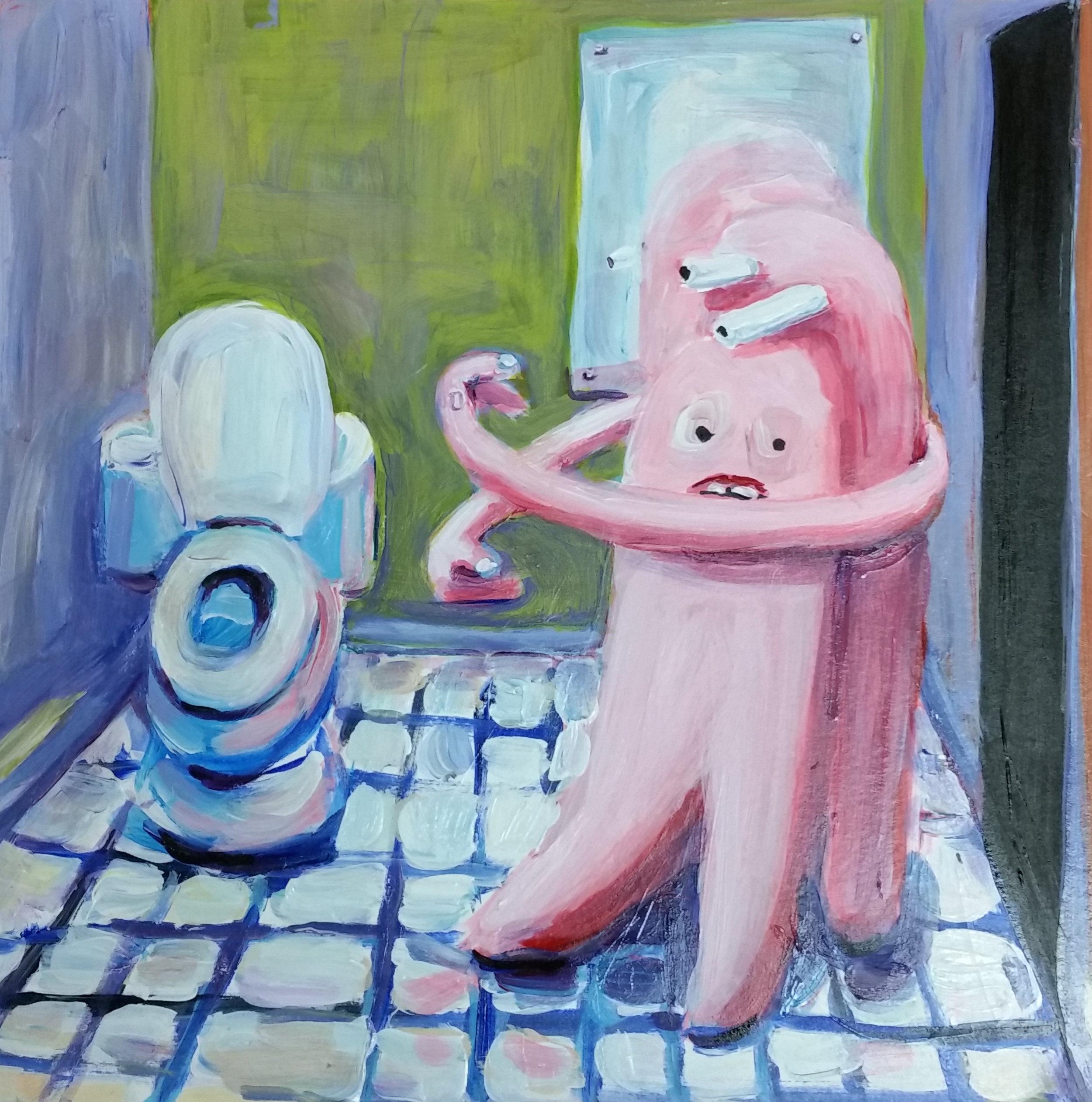 Bathroom Hug