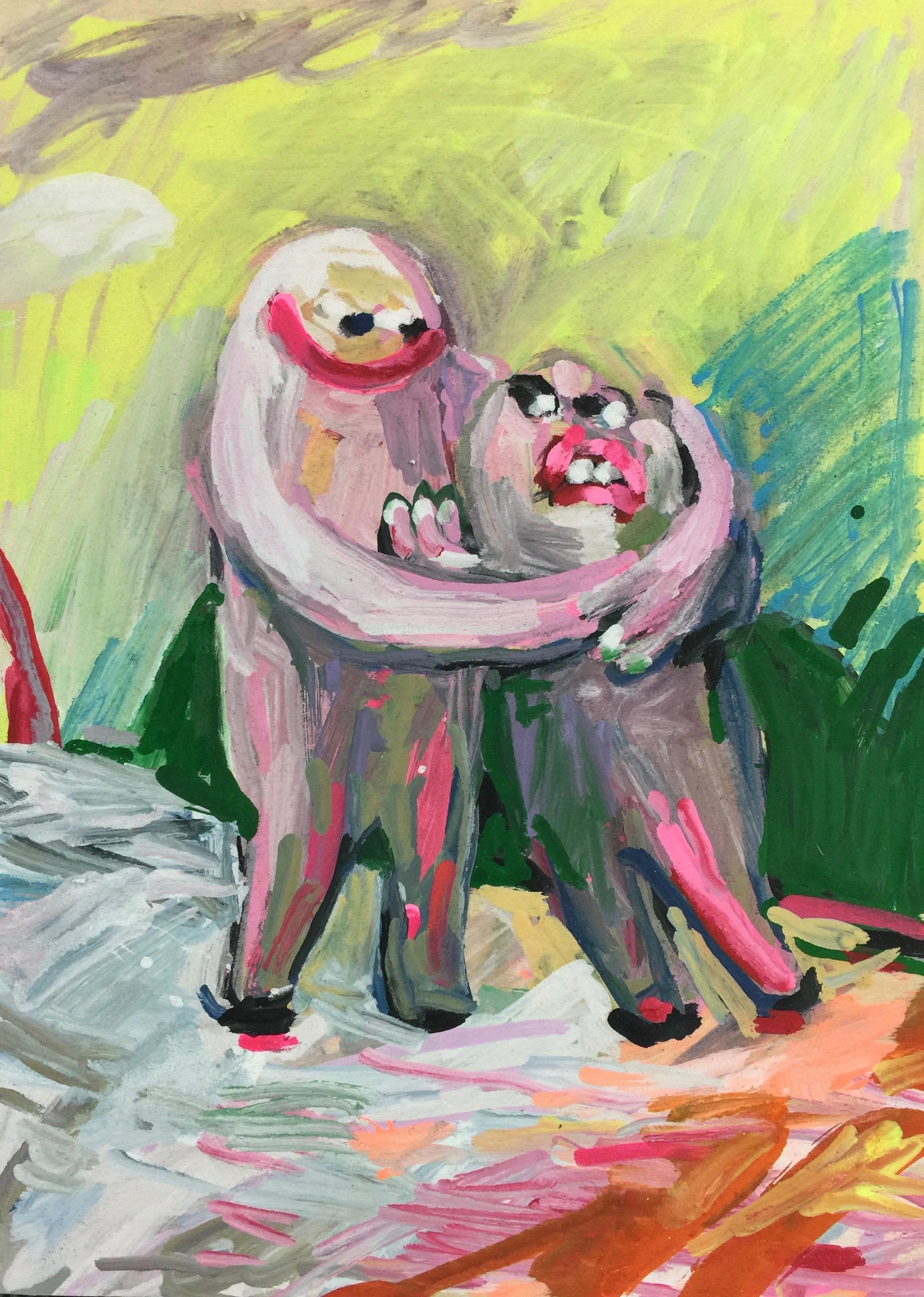 Reluctant Hug