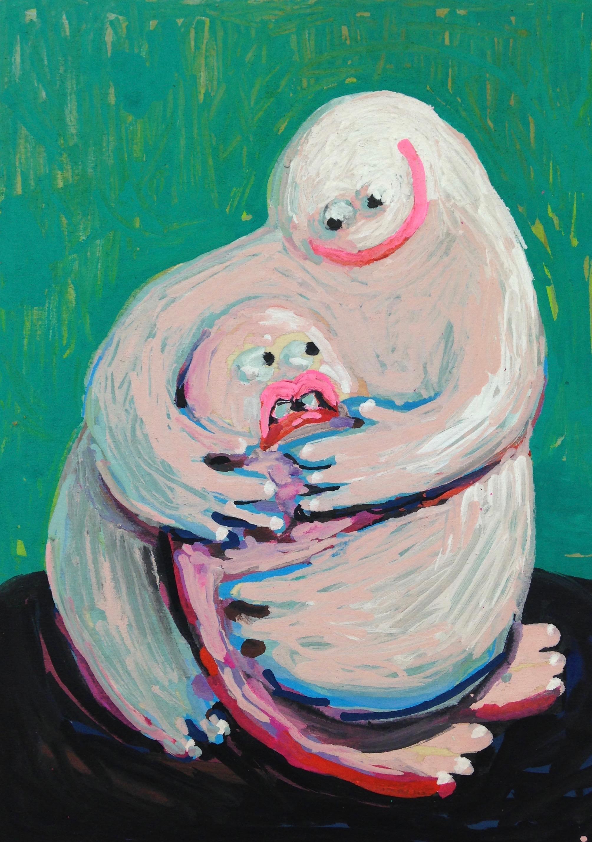 Claustrophobic Hug (Study)