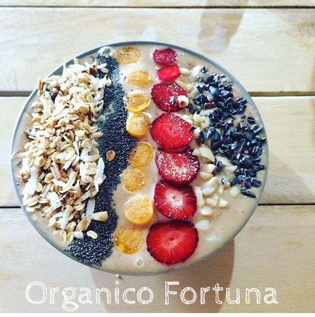 Organico Fortuna:  an place to renew yourself with great fresh food!