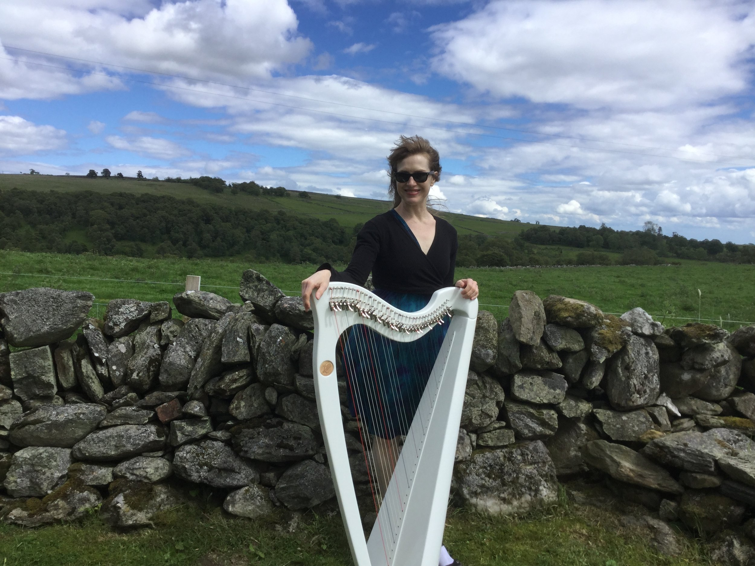 Harping in the Scottish Highlands, 2019