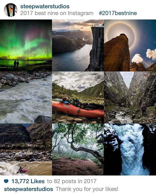 Thanks for a great year everybody! Here's to the next one! #2017bestnine #adventureisoutthere #adventurephotography #liverad #norway #happynewyear #2018 #kayaking #whitewater #photographer #filmmaker #outdoor #hiking #waterfall #nature #gear #ambassador #travel #travelphotography #adventurephotography #lifegoals #vanlife #selfemployed #freelance #hireme