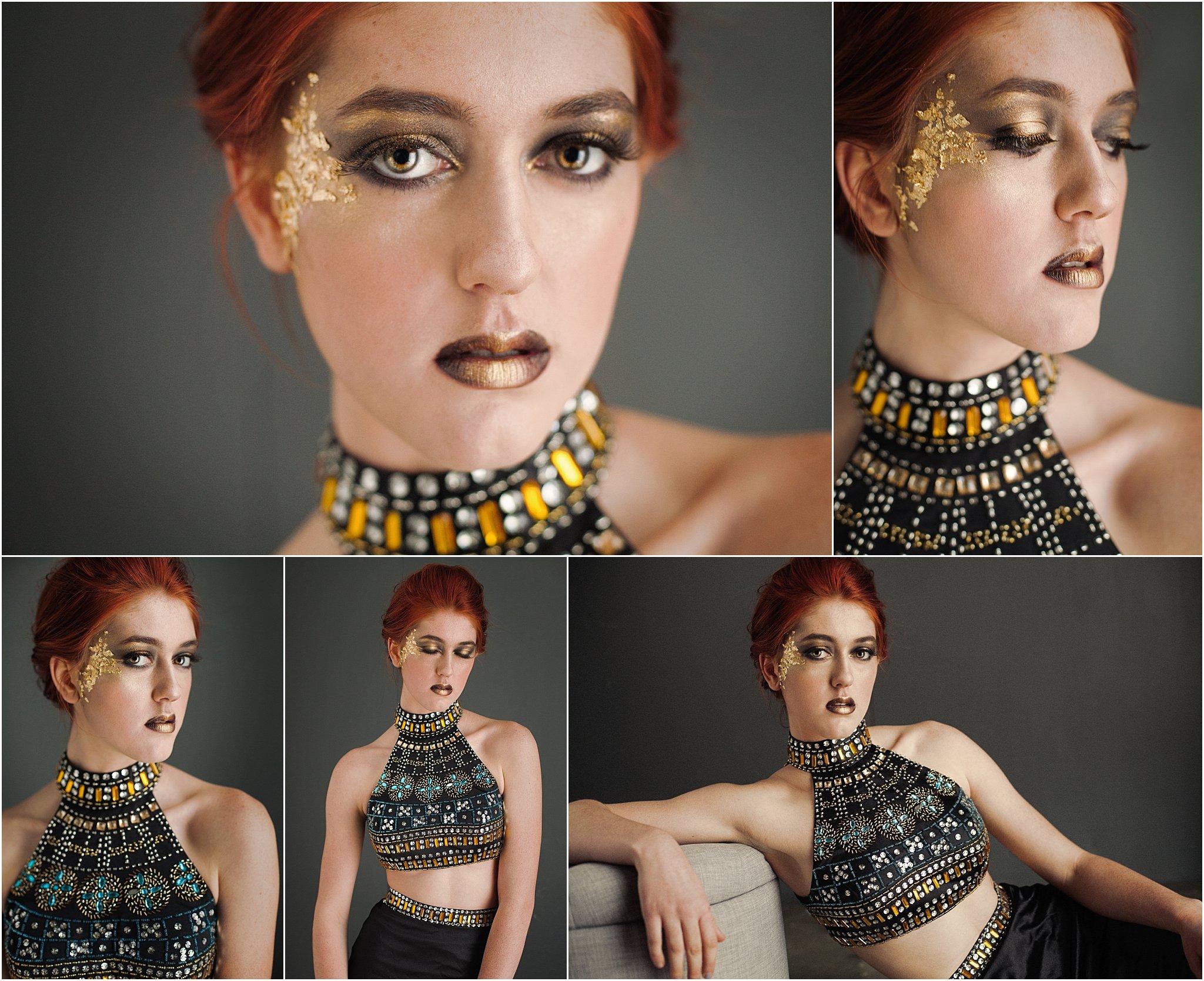 be creative - not your average senior portraits - fashion - asheville - high school seniors
