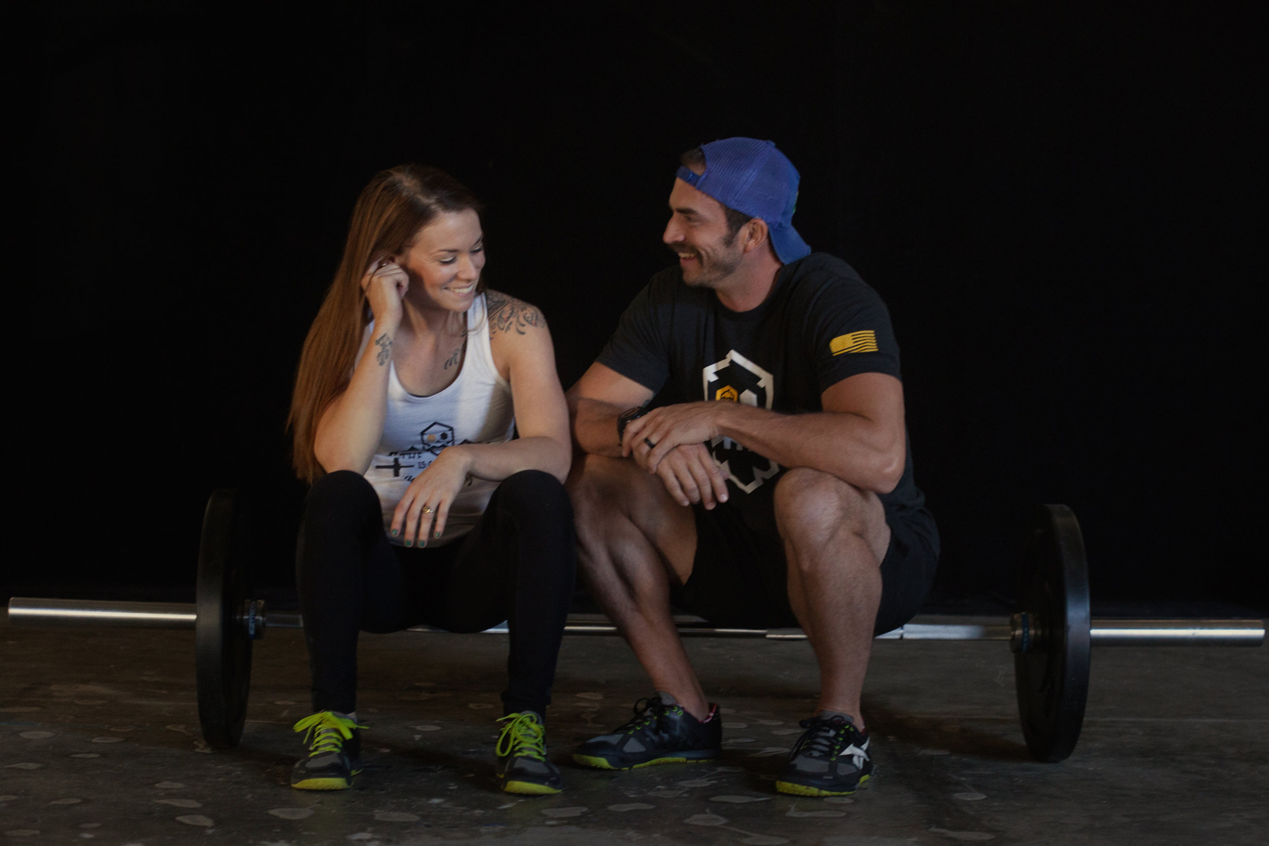 asheville crossfit box owners jeremy and abby mcdonnell