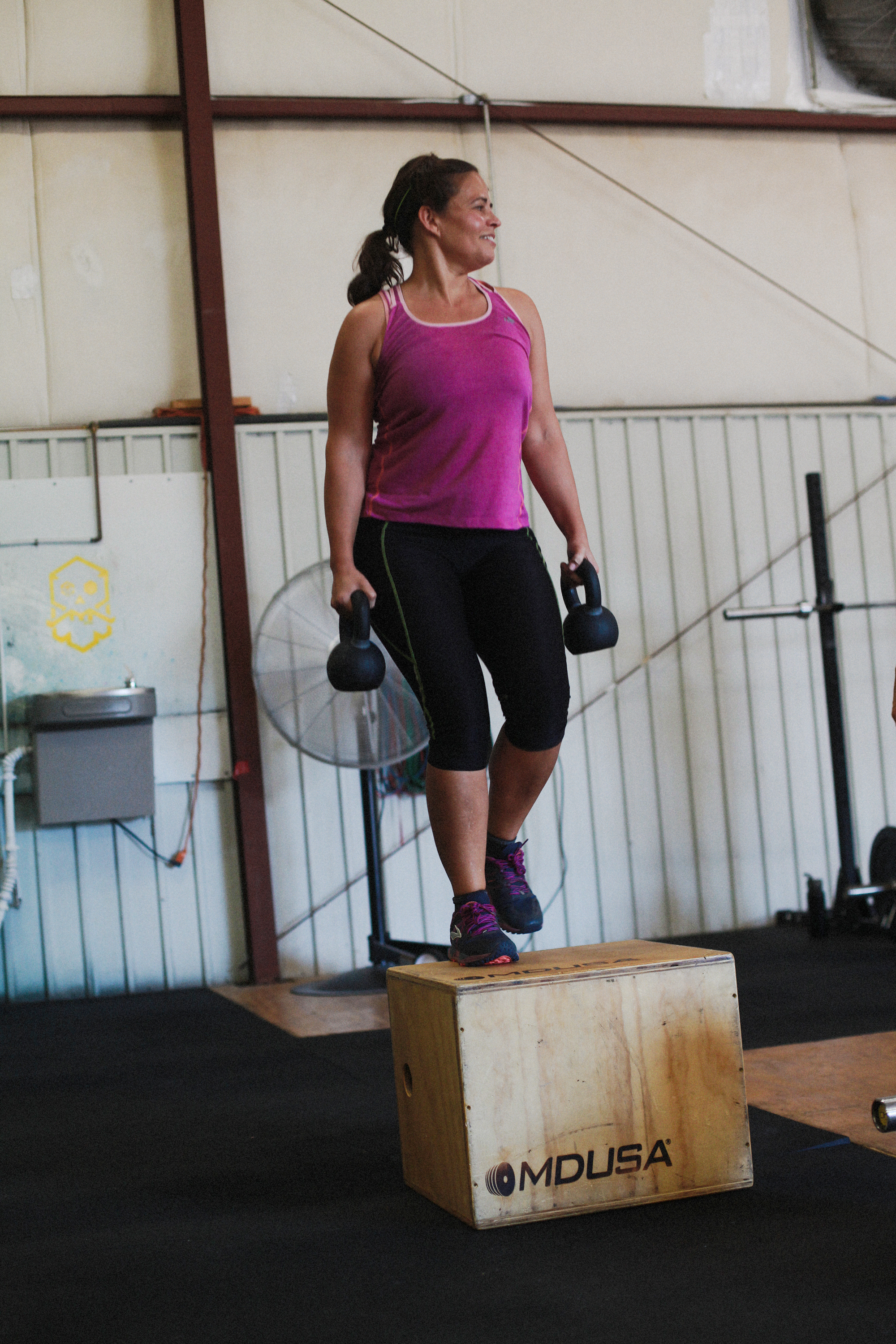 box step ups - crossfit friendly at any level - scaling options