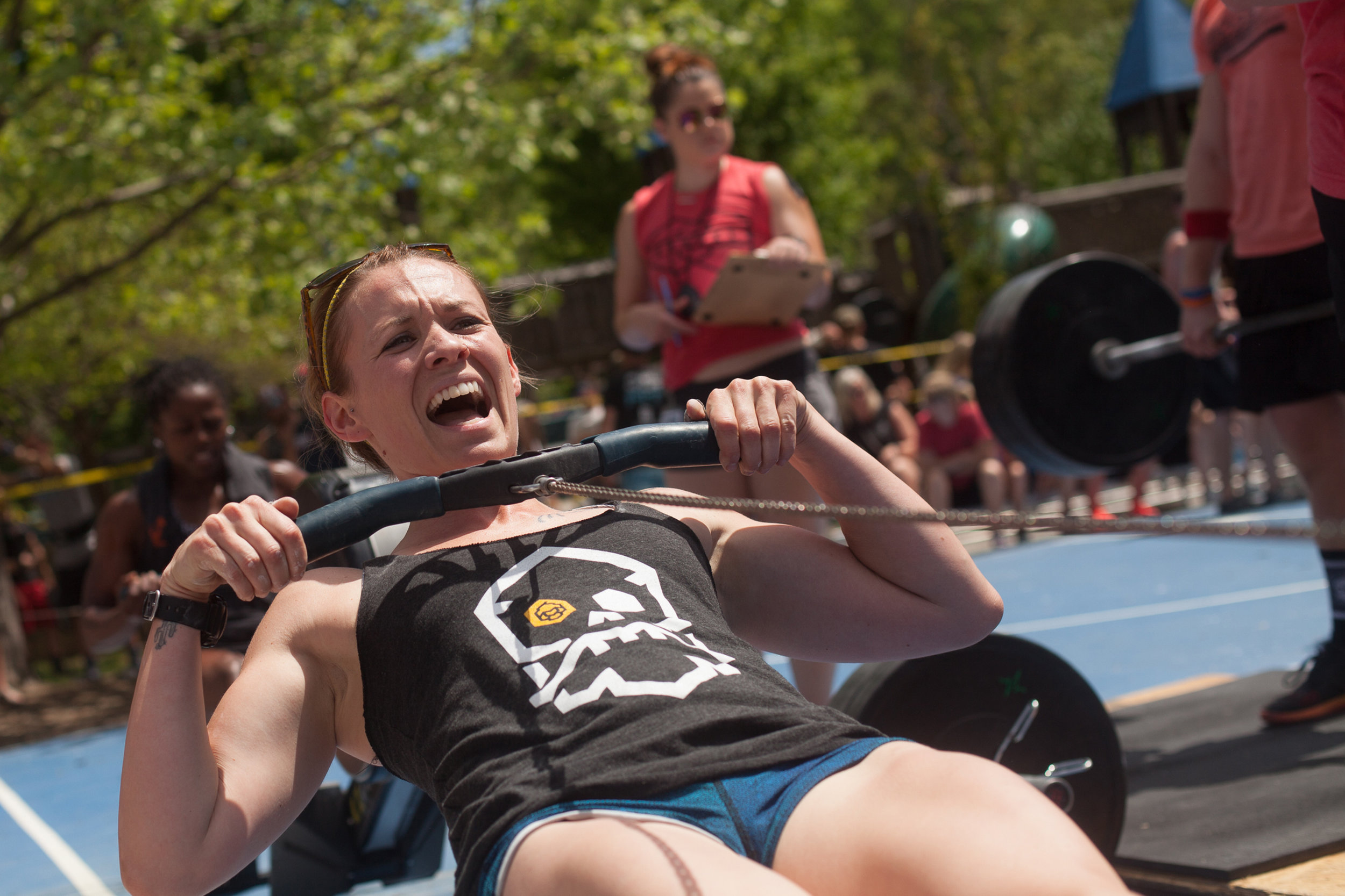 crossfit - competition rowing