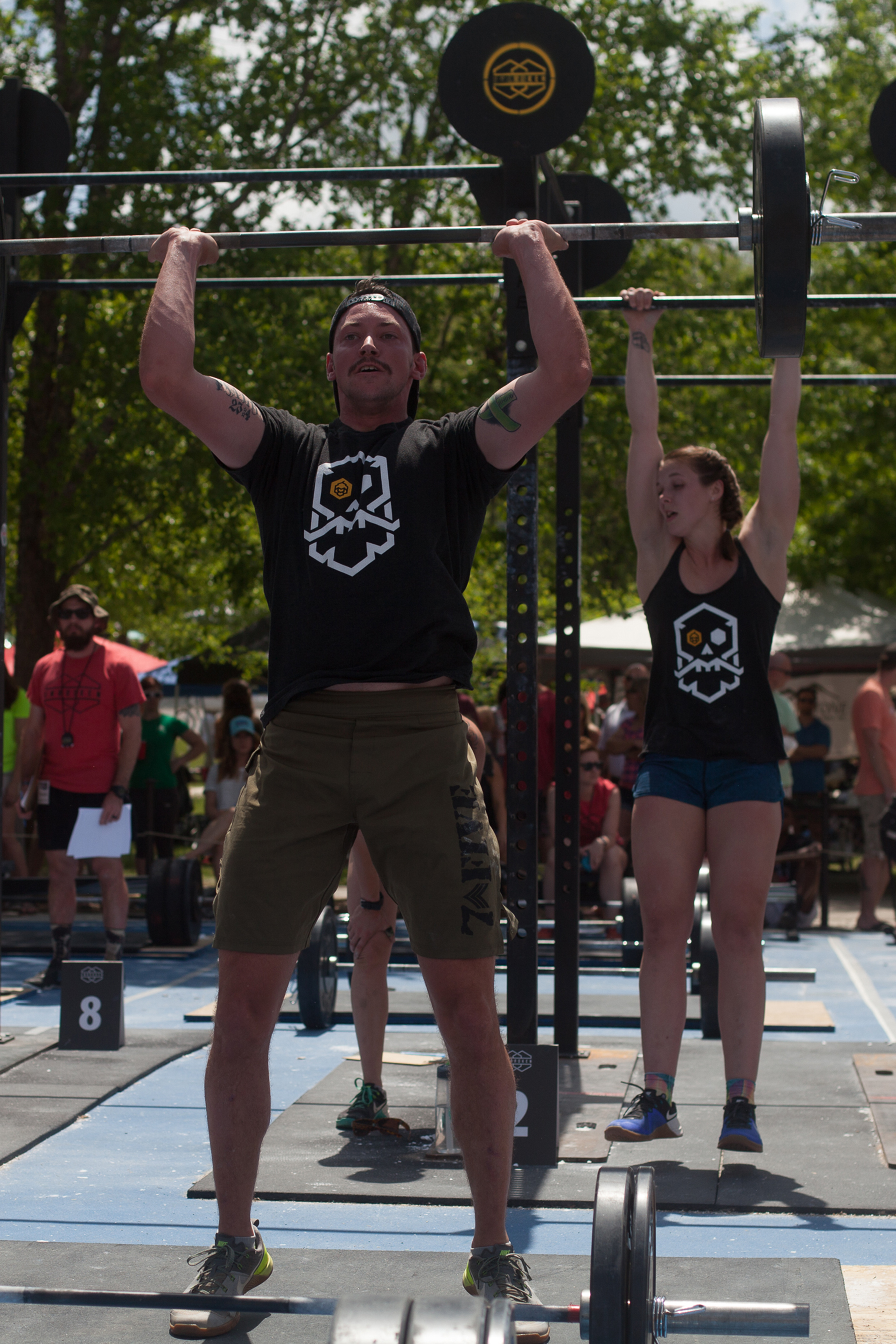 couples who lift - crossfit competition