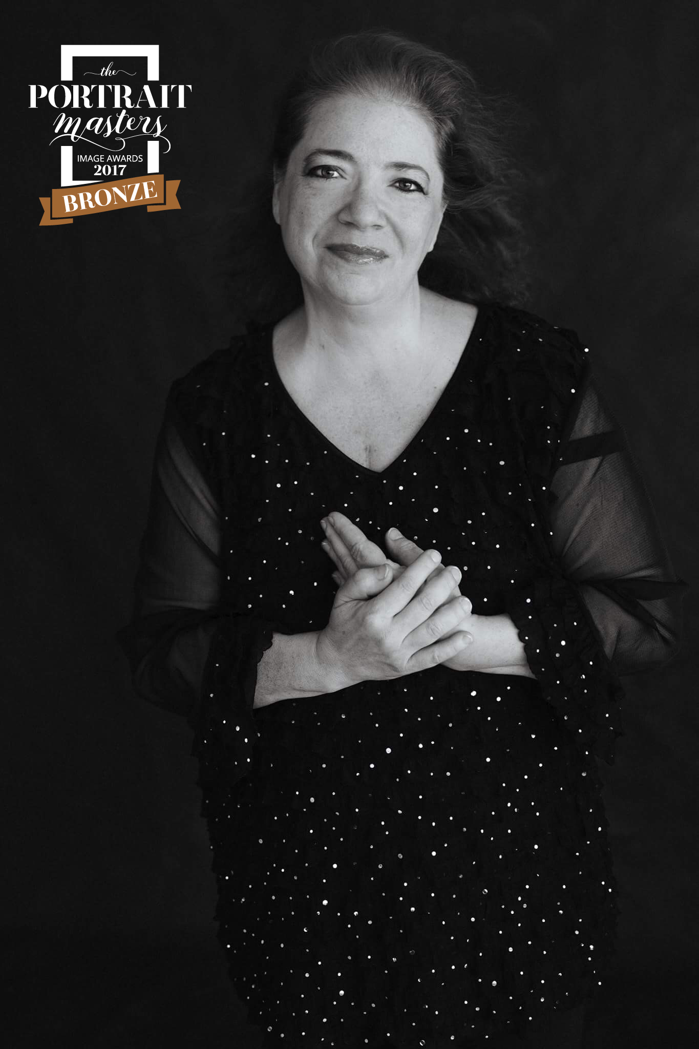 """""""I am flabbergasted that a photo you did of me captured an award. I am honored! Congratulations!"""" - Rose Marie Viera"""