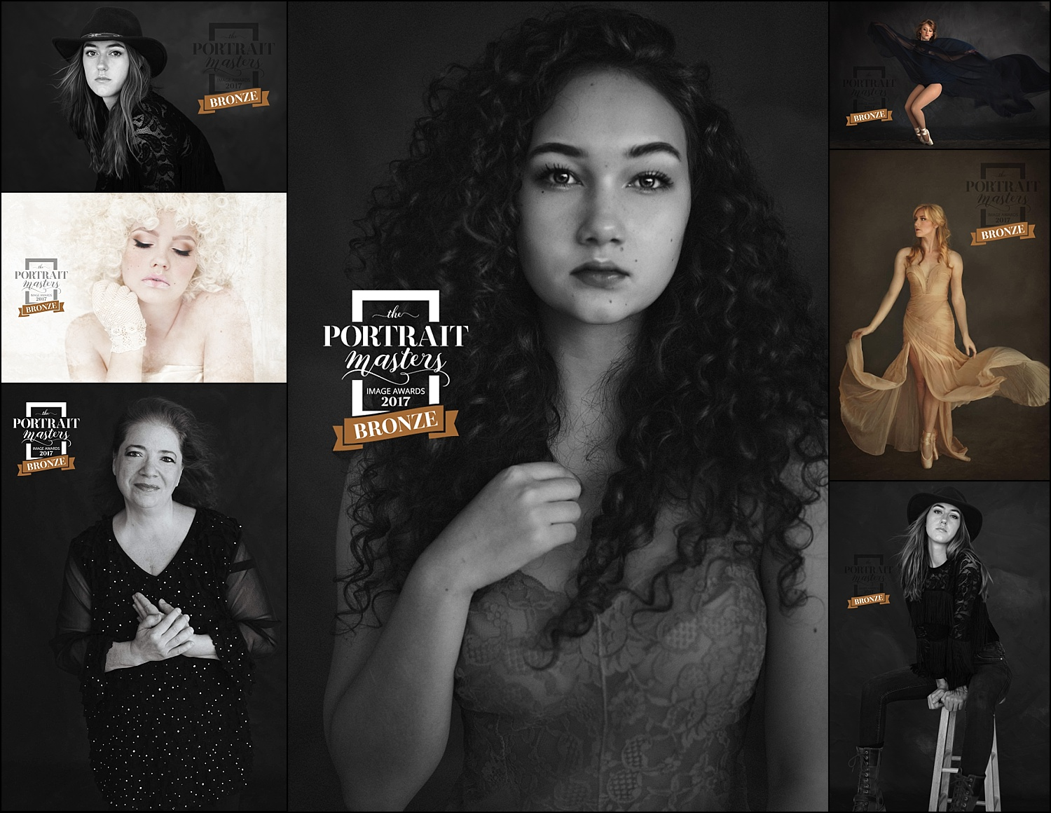 bronze awards - the portrait masters - international recognition