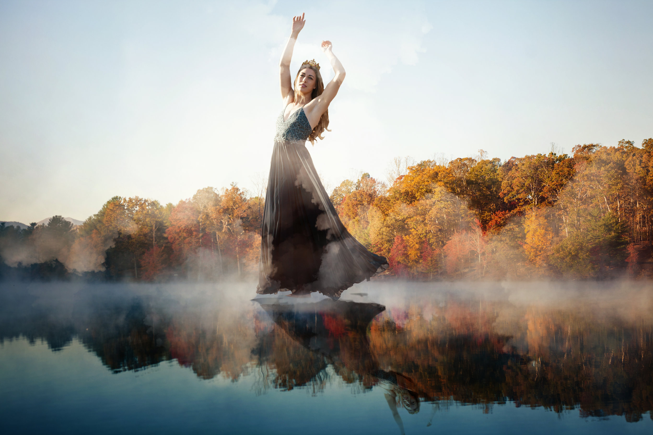 creative portrait photography in Asheville